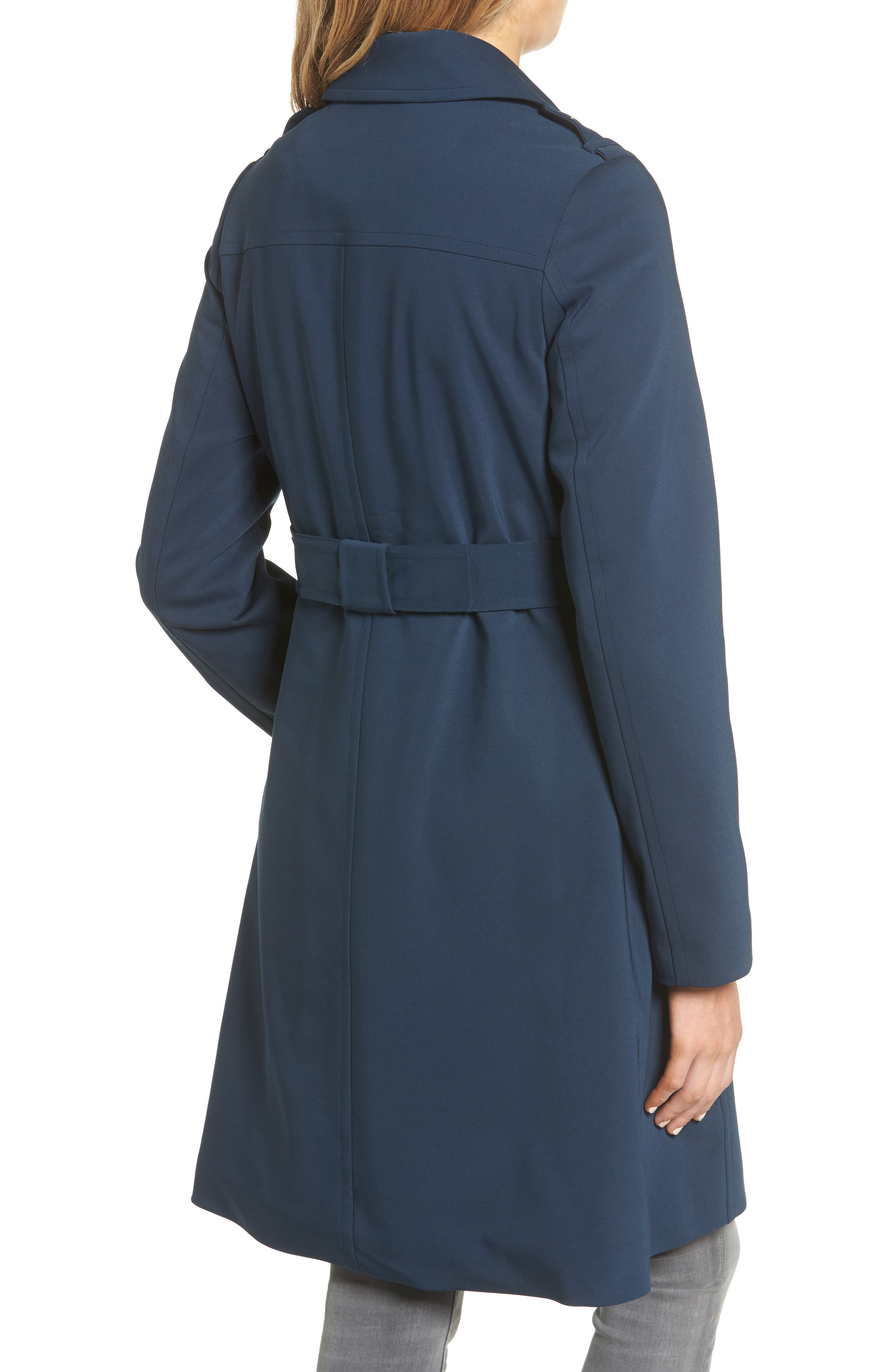 3-in-1 trench coat,                             Alternate thumbnail 2, color,                             Rich Navy