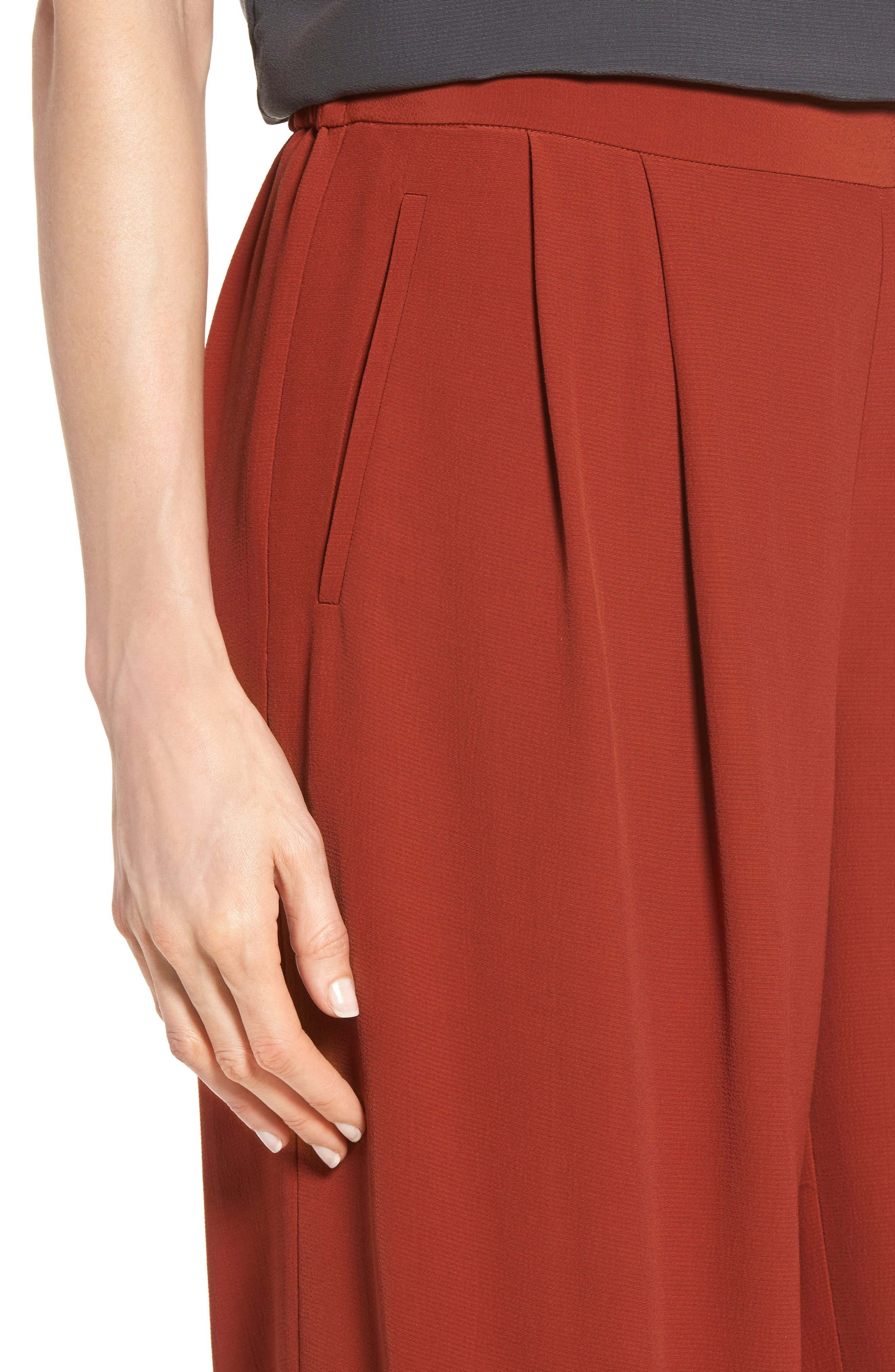 Alternate Image 4  - Eileen Fisher Wide Leg Pants (Regular & Petite)