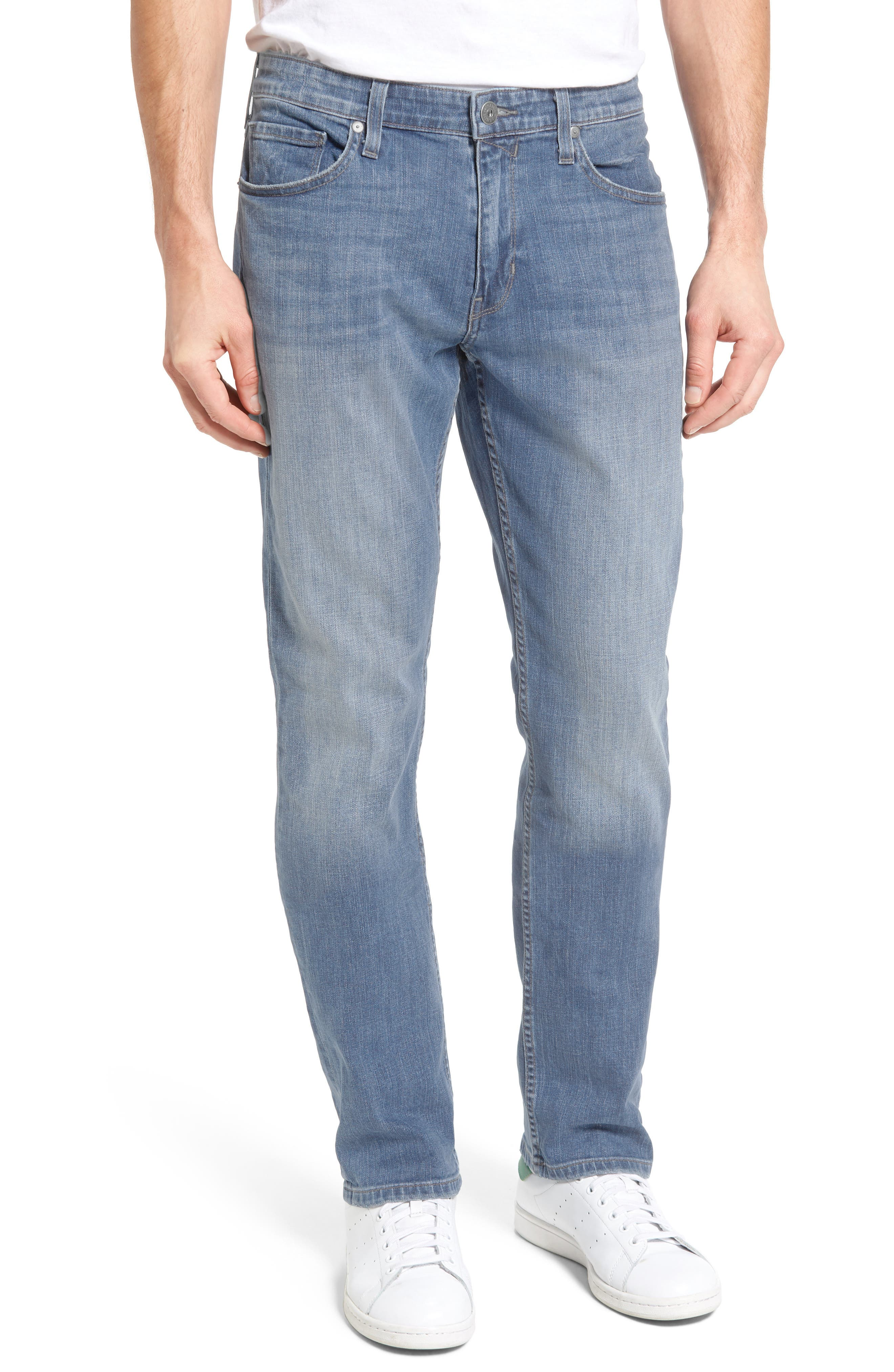 PAIGE Transcend - Federal Slim Straight Leg Jeans (Dome)