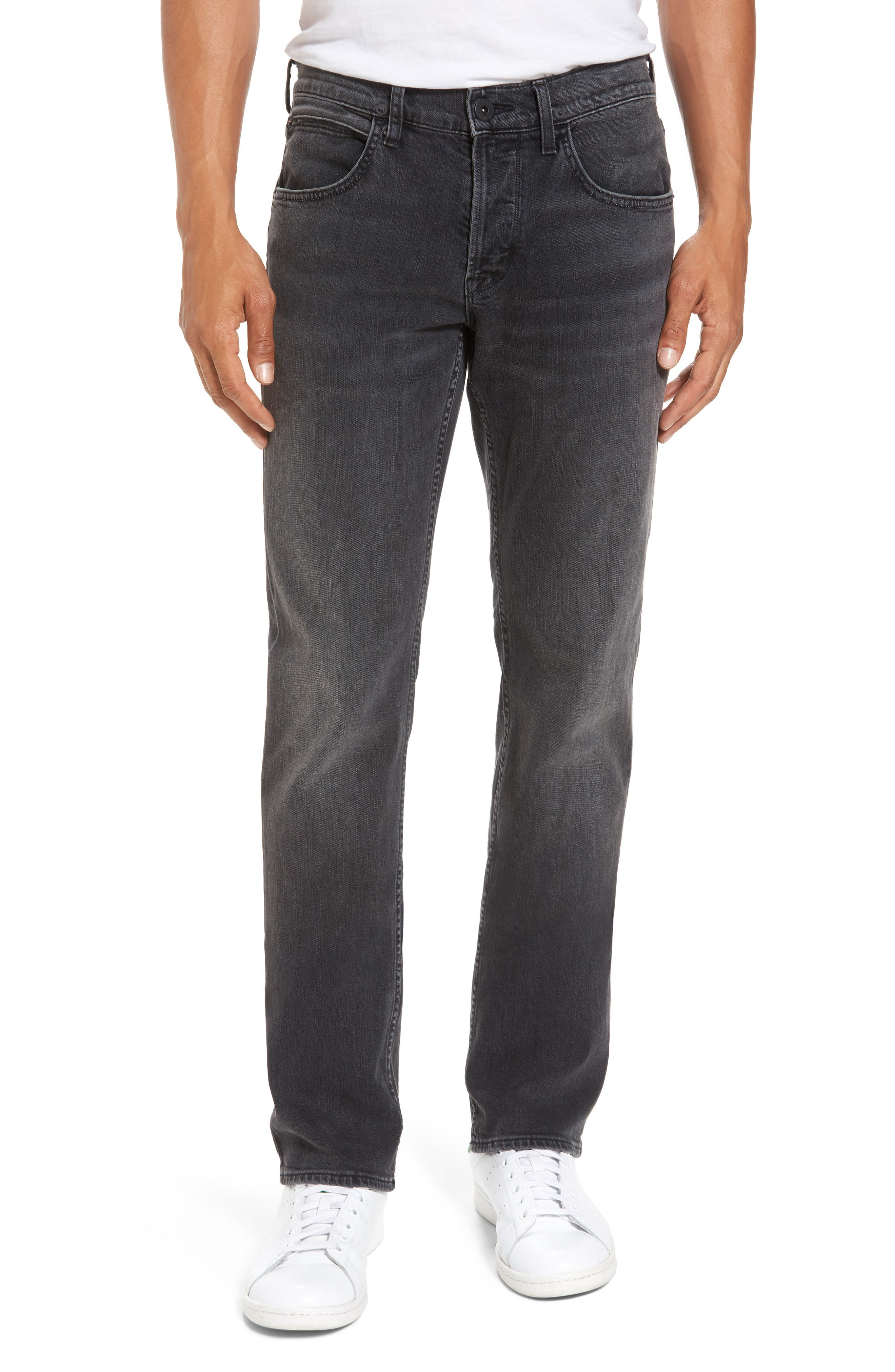 Byron Slim Straight Leg Jeans,                         Main,                         color, Oxidize