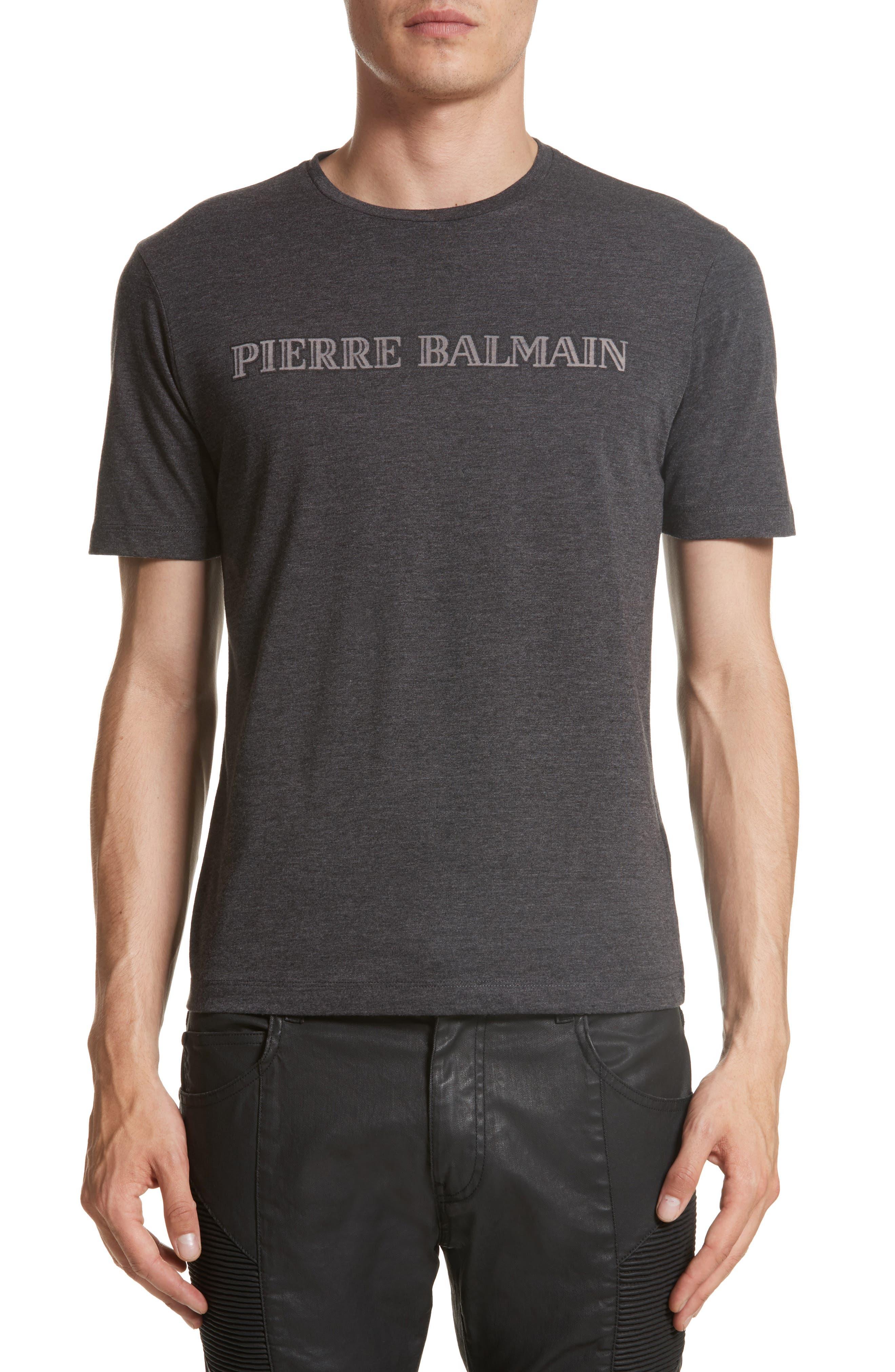 Pierre Balmain Logo Graphic T-Shirt