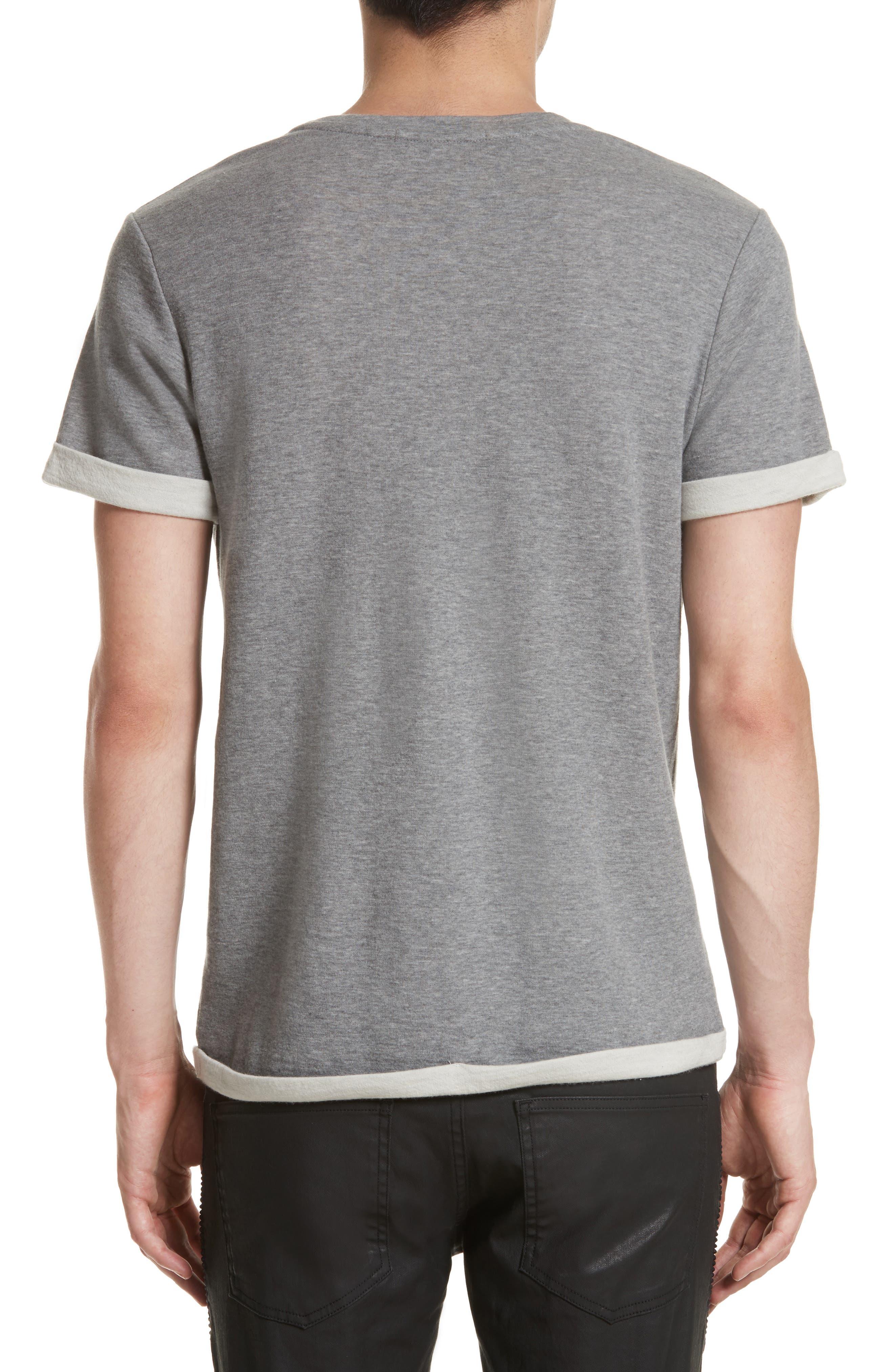 Alternate Image 2  - Pierre Balmain Print Fleece T-Shirt