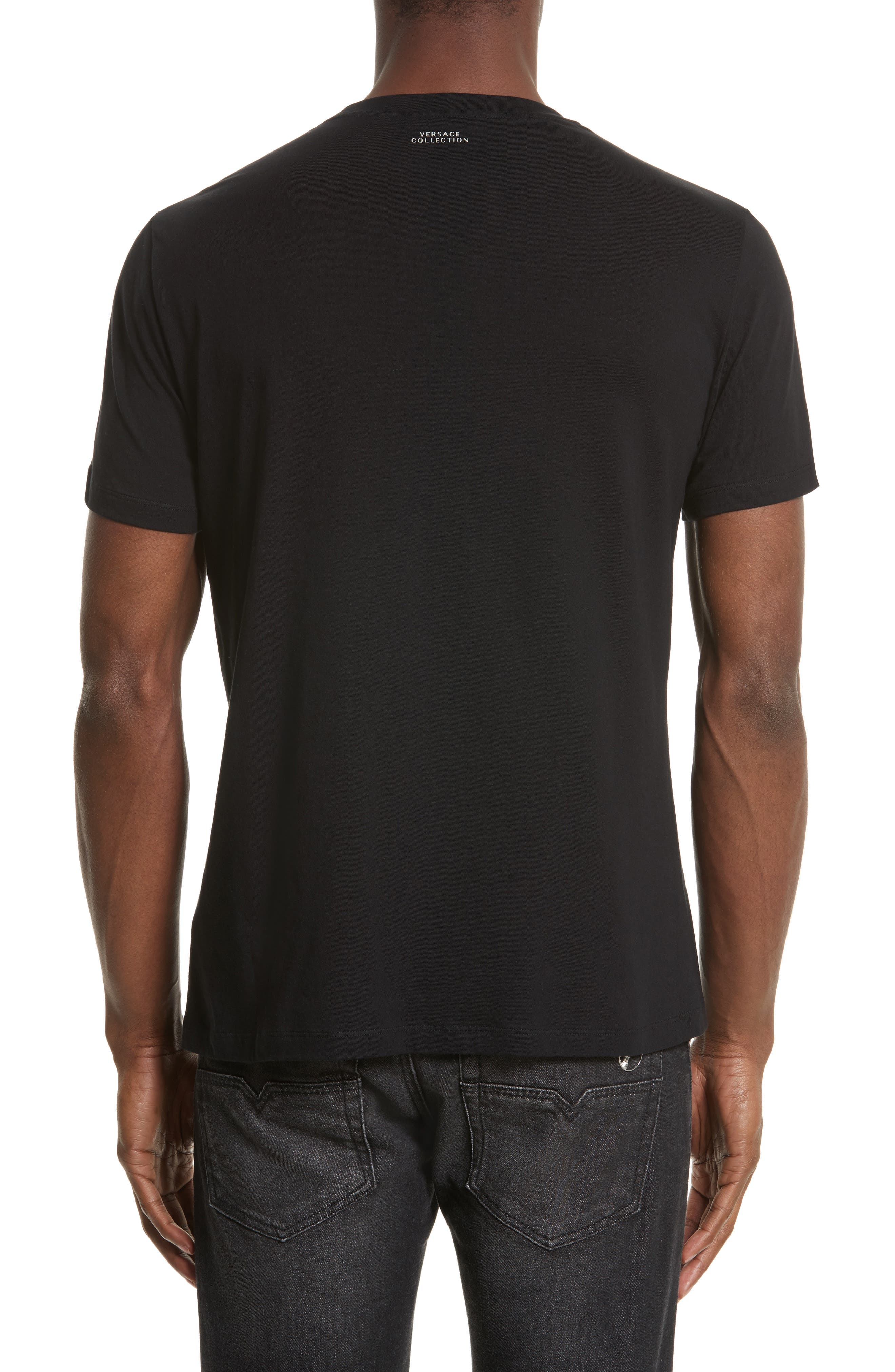 Alternate Image 2  - Versace Collection Logo Graphic T-Shirt