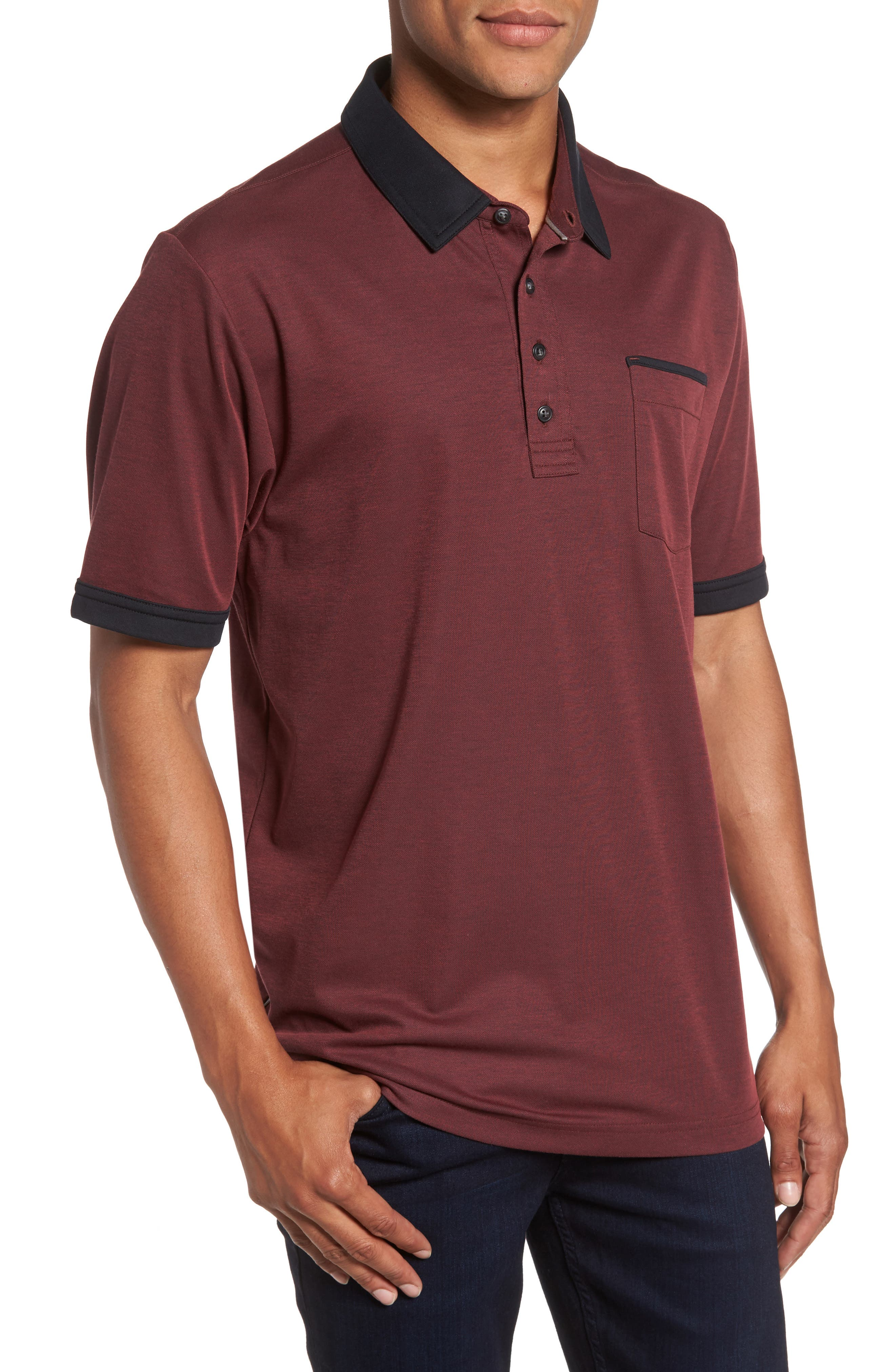Travis Mathew K-Lew Piqué Polo