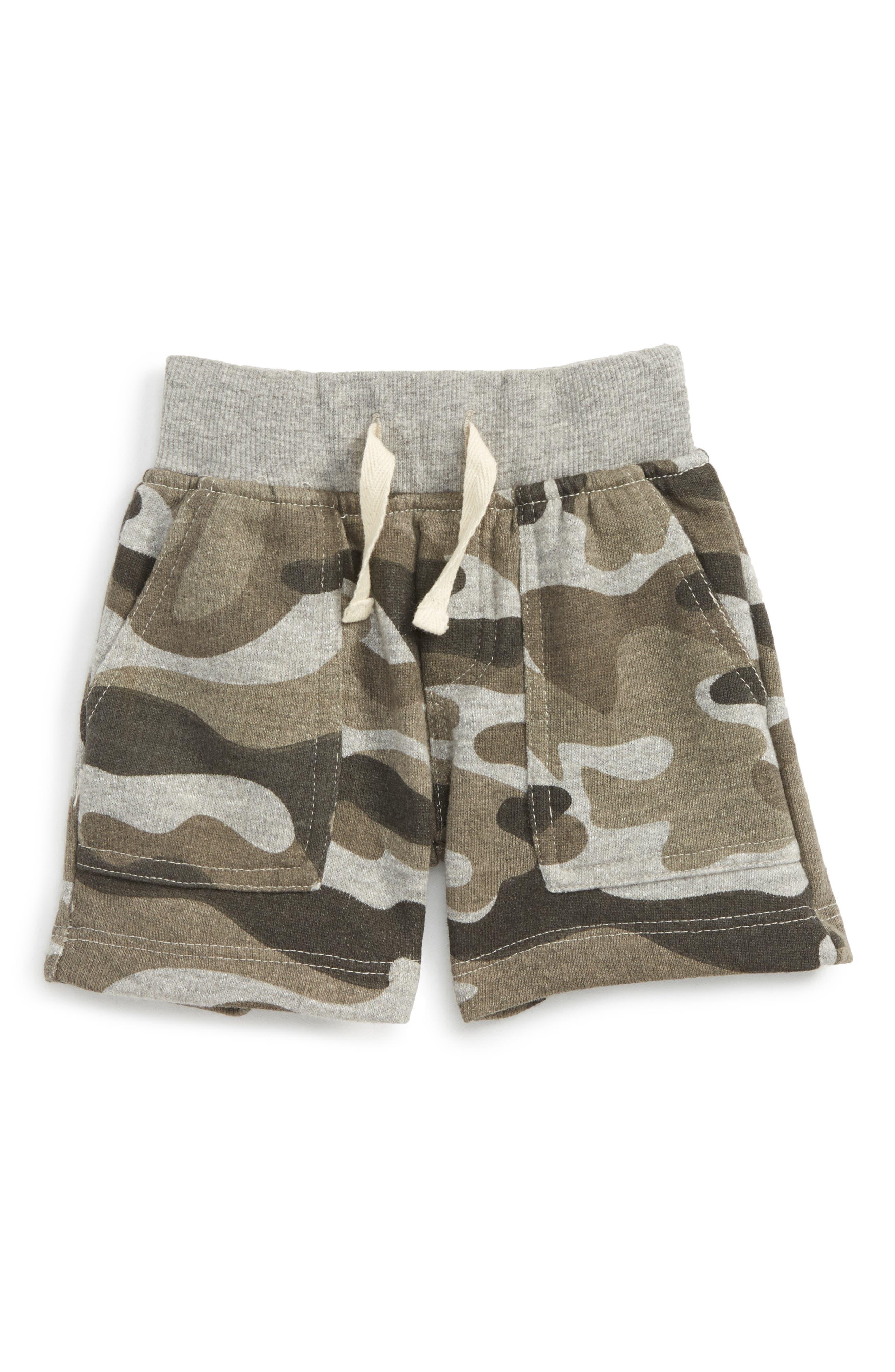 Stephen Camo Shorts
