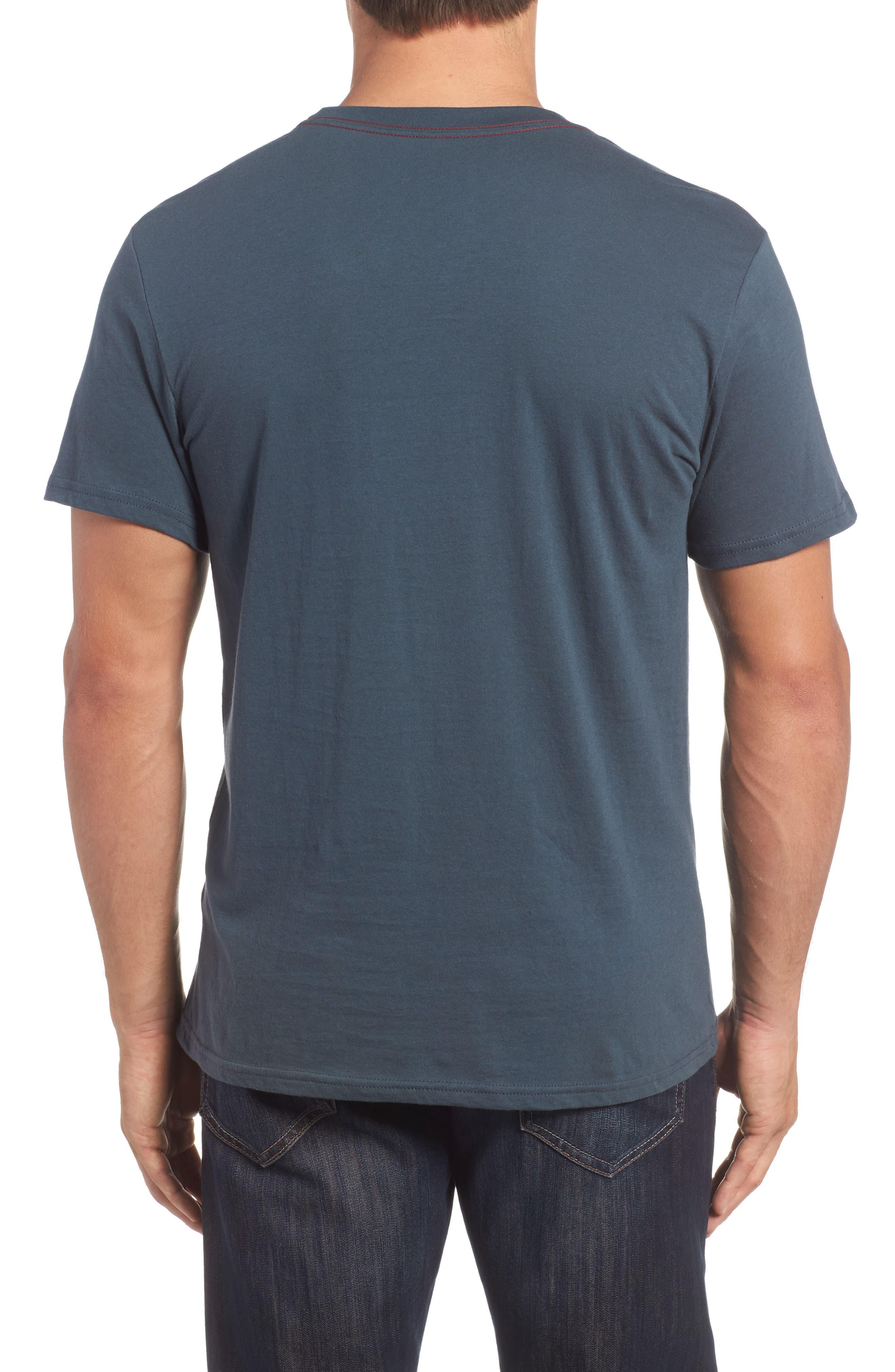 Big Palm Graphic T-Shirt,                             Alternate thumbnail 2, color,                             Midnight