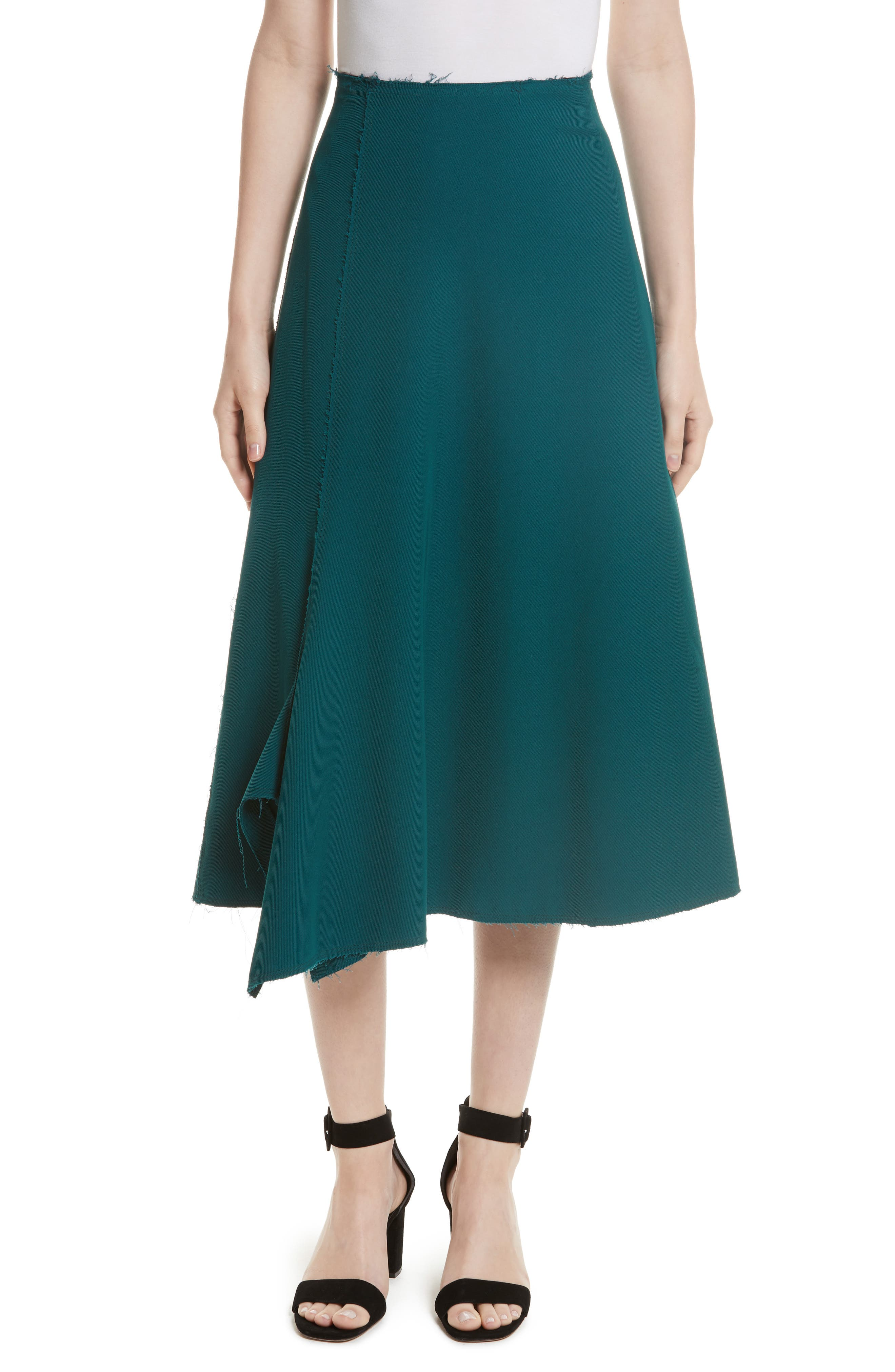 Tracy Reese Deconstructed Midi Skirt