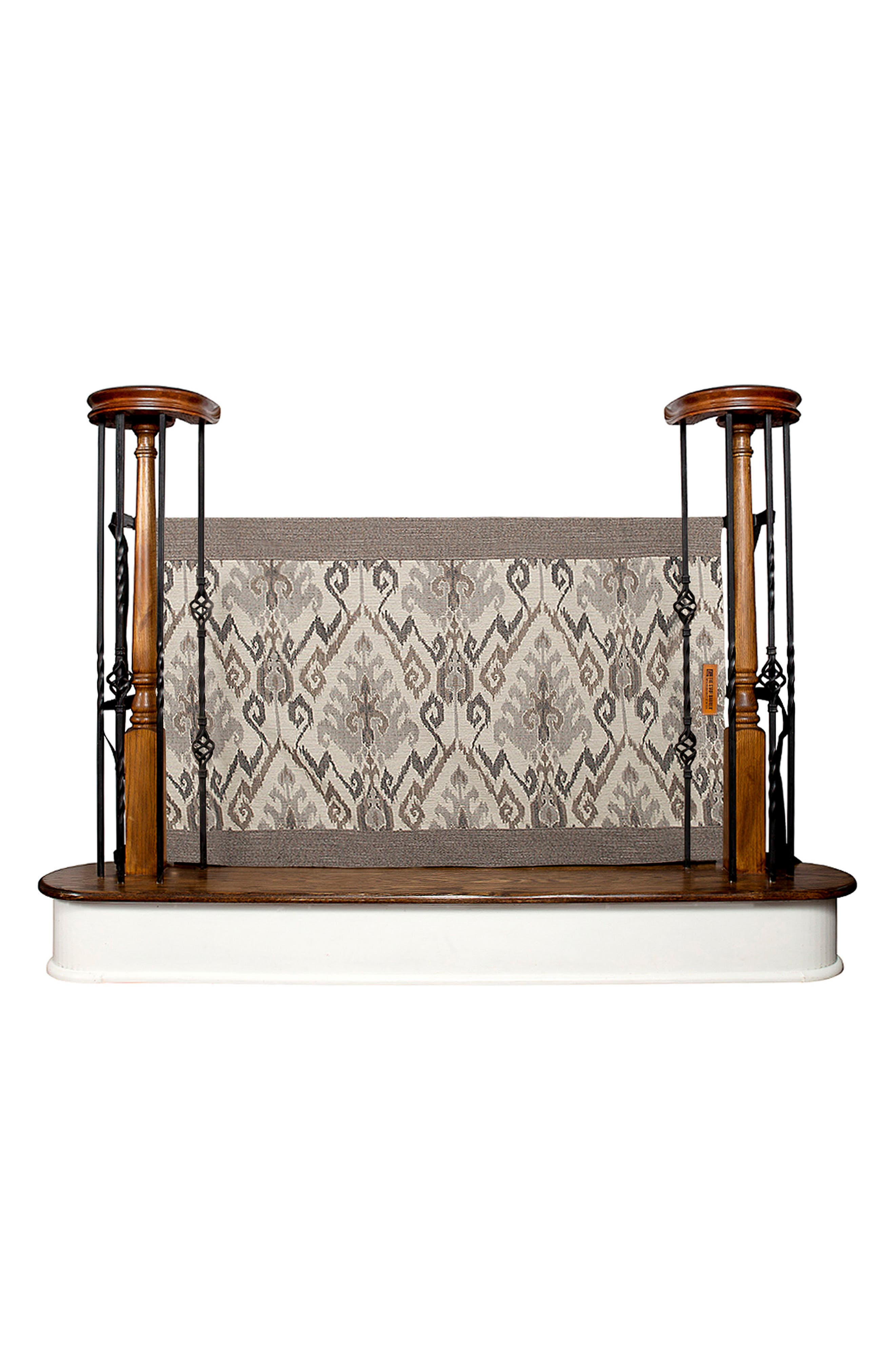 Banister to Banister Safety Gate,                             Main thumbnail 1, color,                             Aztec