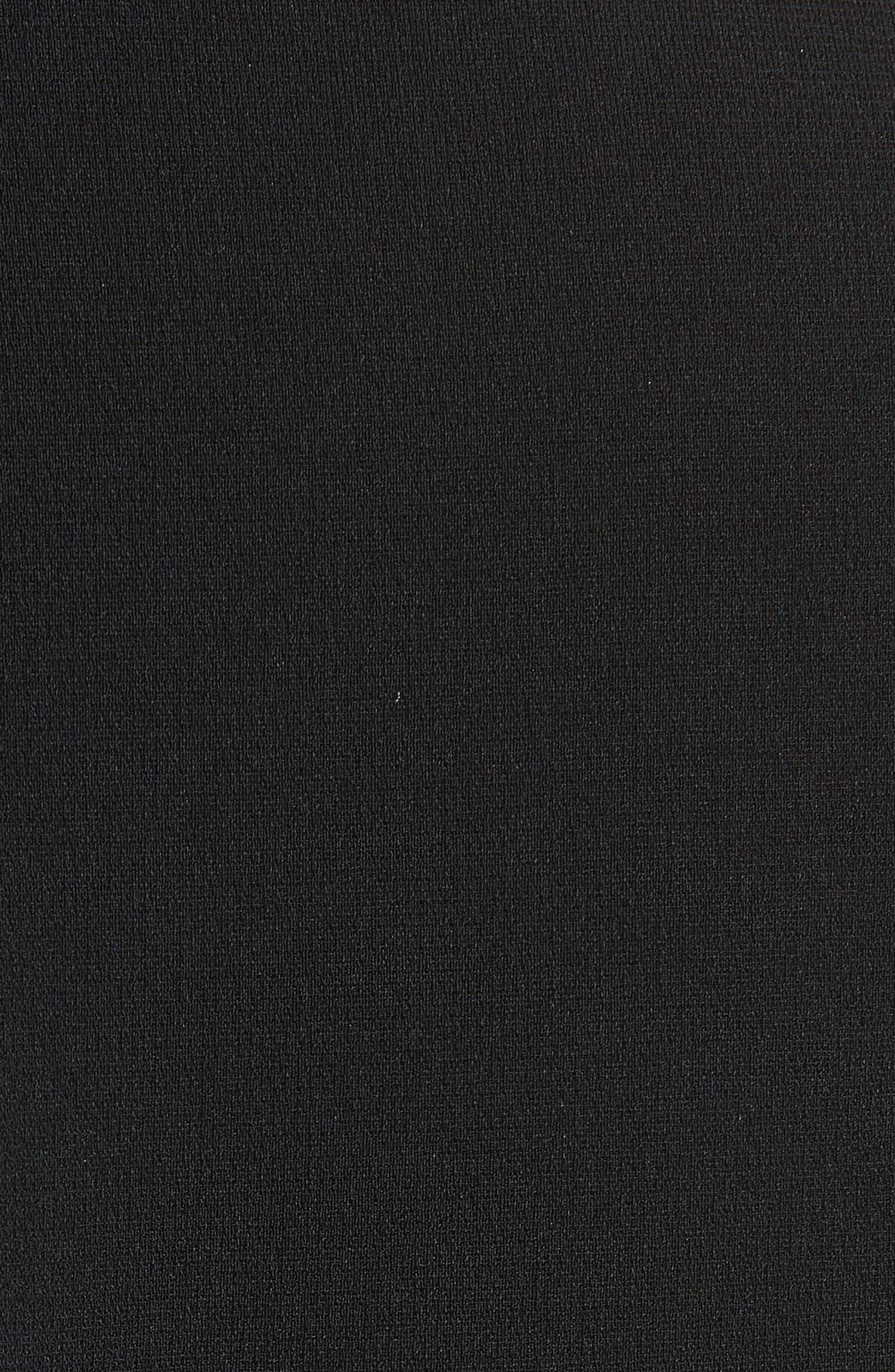 Alternate Image 5  - Brandon Maxwell Cutout Crepe Top