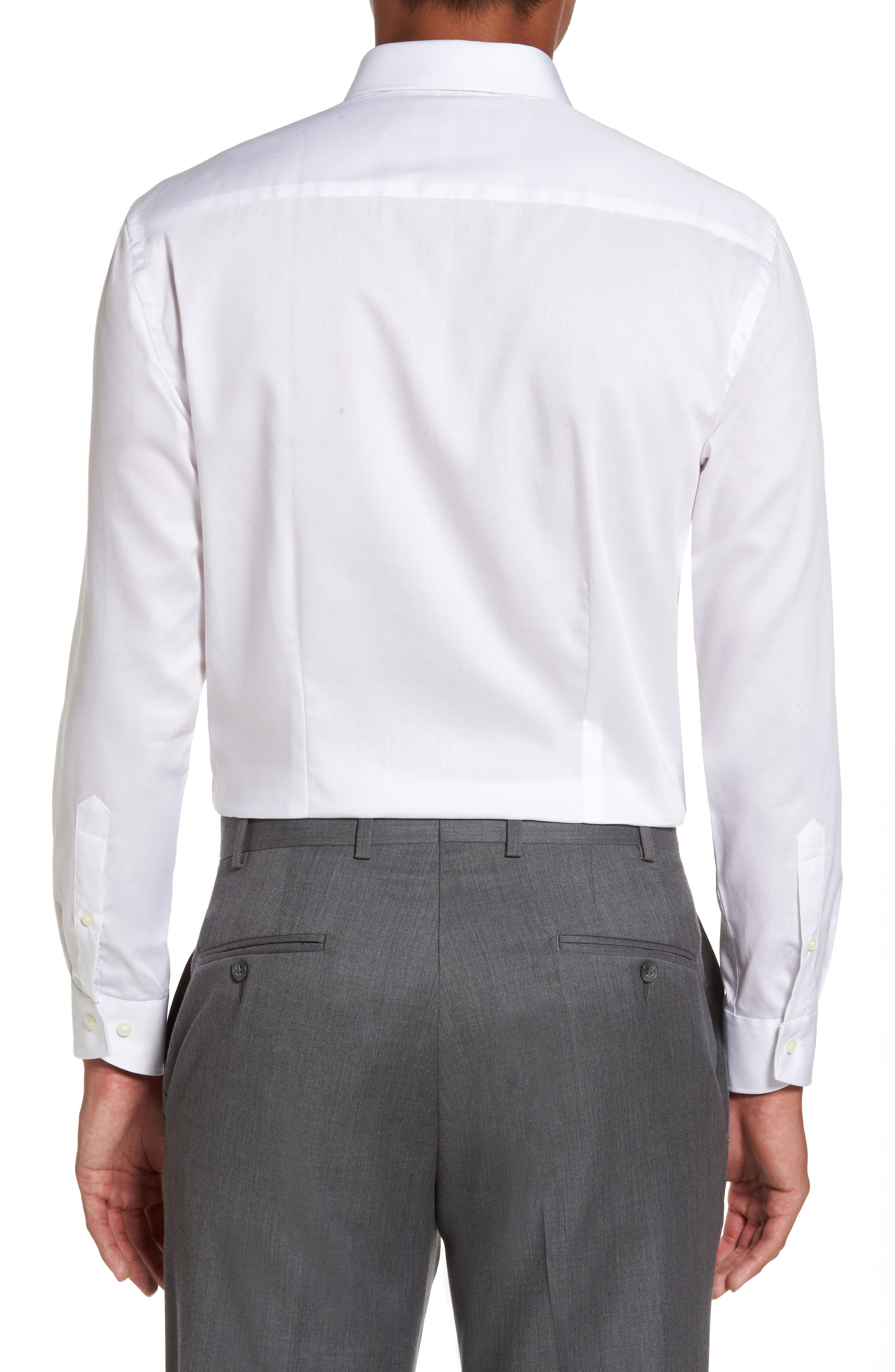 Alternate Image 3  - Ted Baker London Caramor Trim Fit Solid Dress Shirt