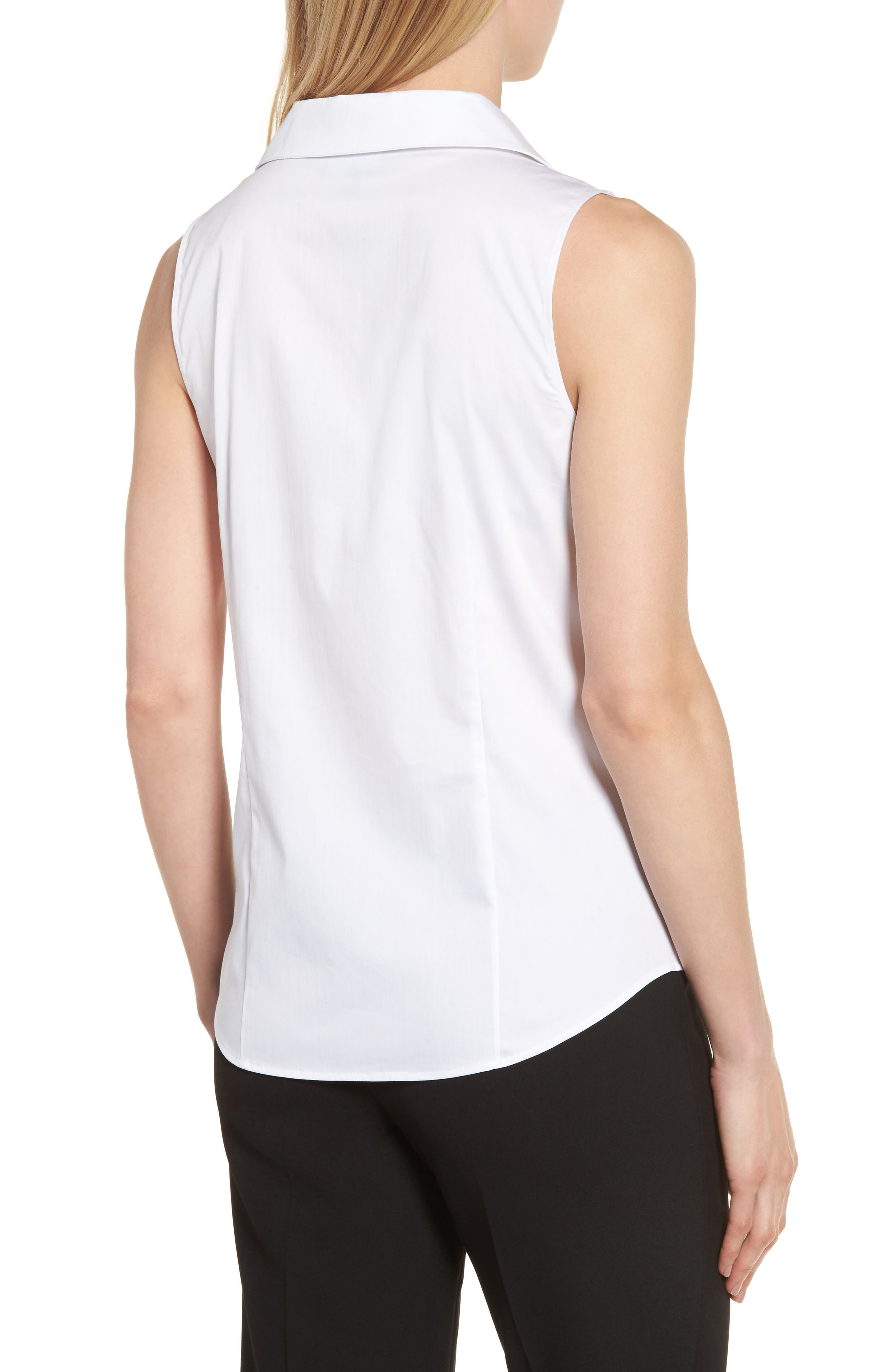 Alternate Image 2  - Ming Wang Sleeveless Shirt