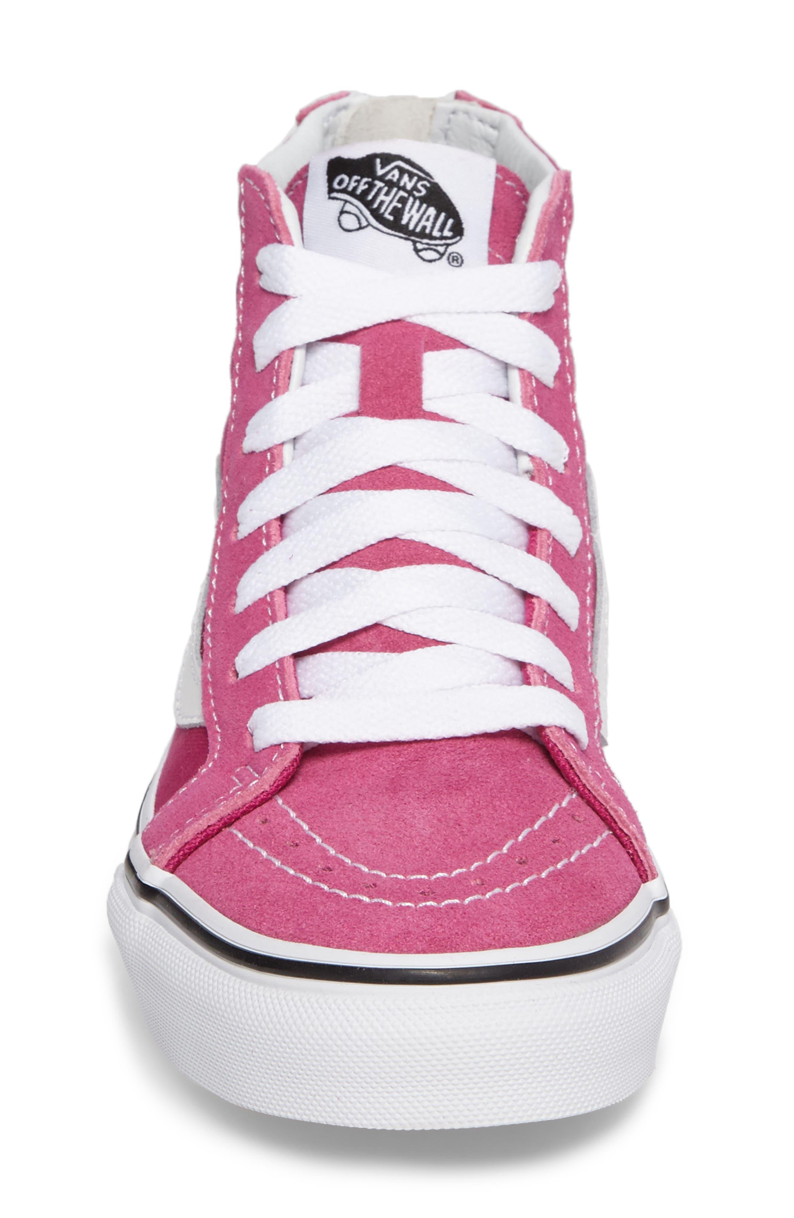 Alternate Image 9  - Vans Sk8-Hi Zip Sneaker (Baby, Walker, Toddler, Little Kid & Big Kid)