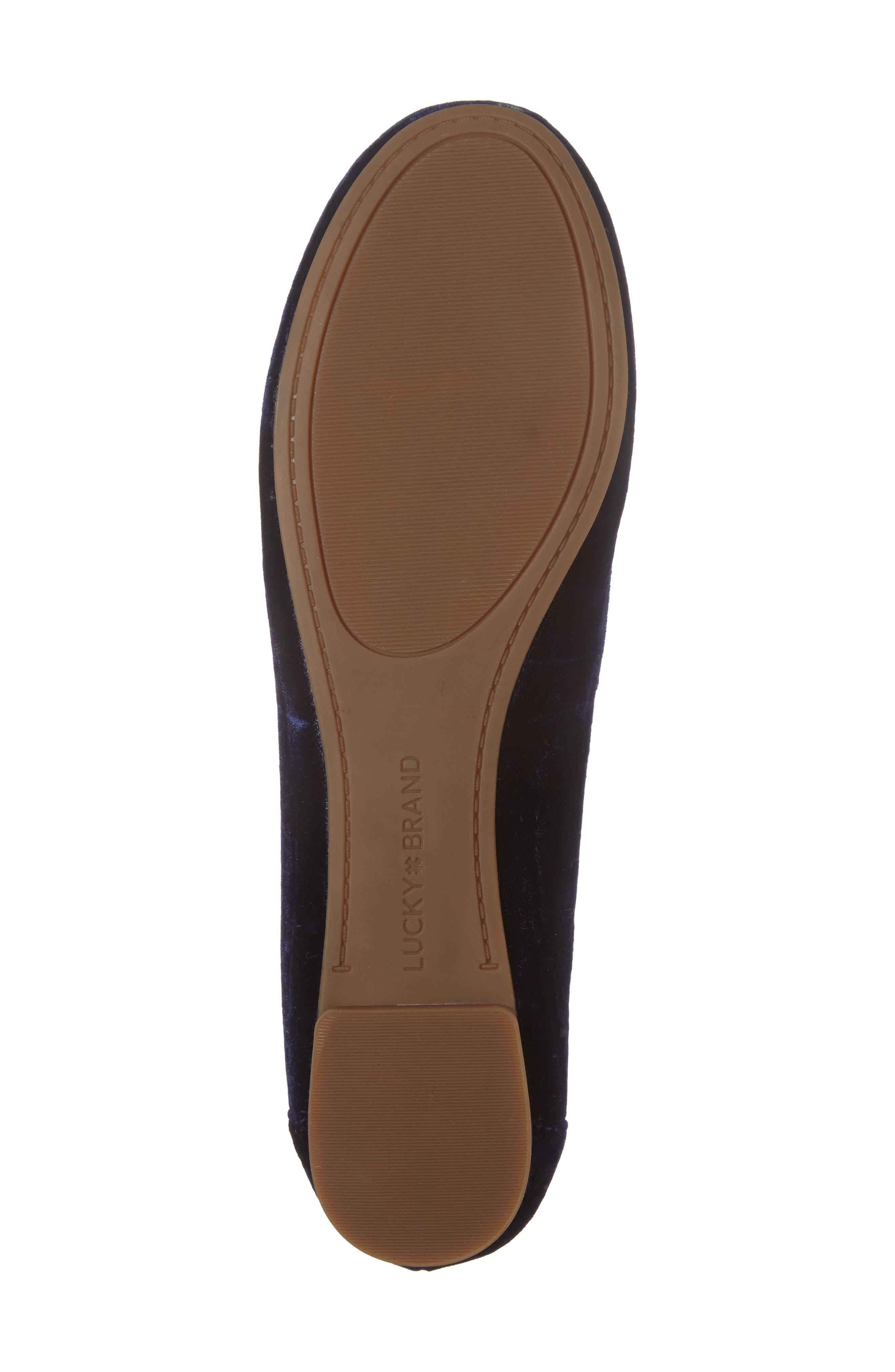 Alternate Image 6  - Lucky Brand Eaden Flat (Women)