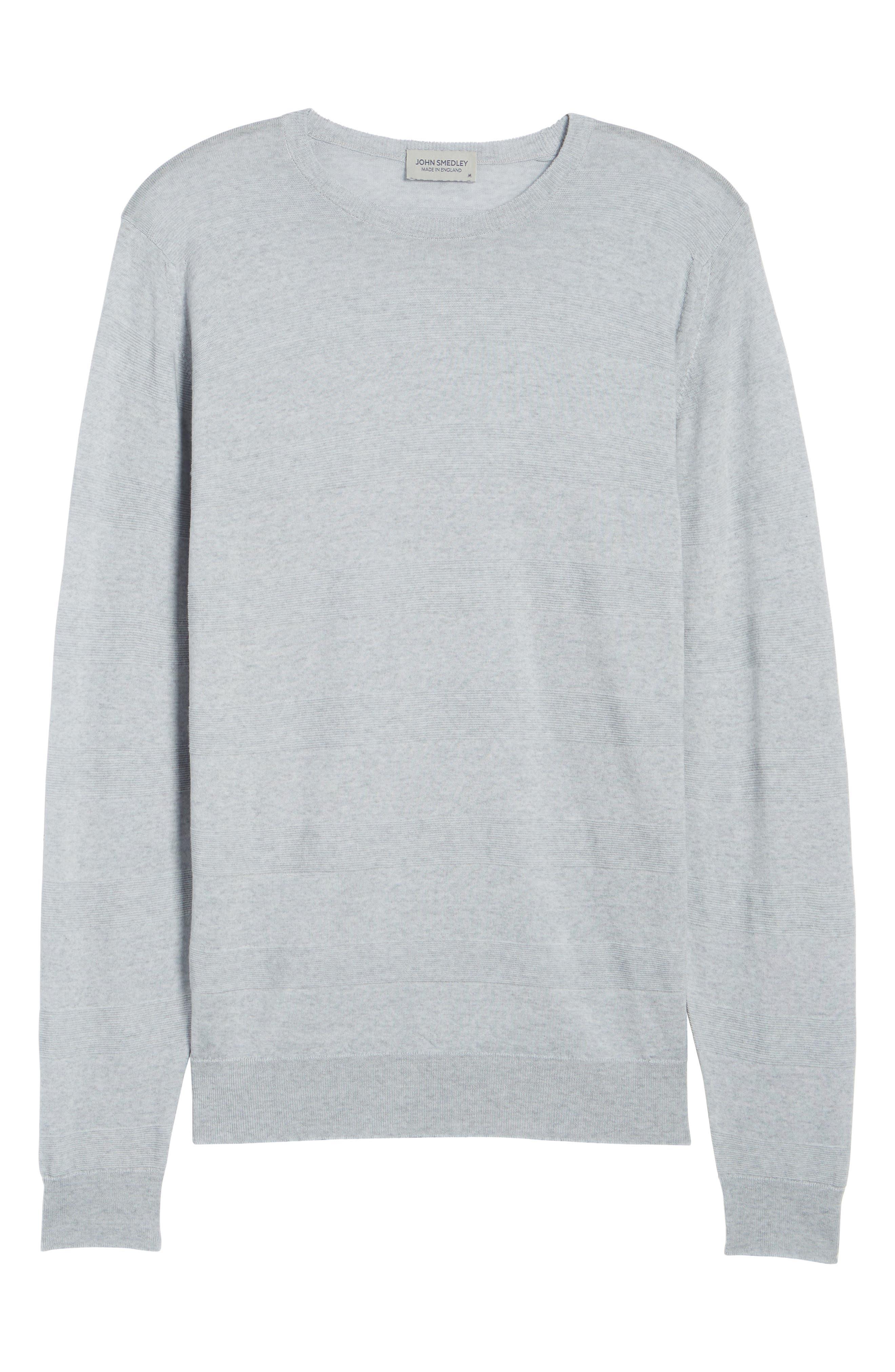 Alternate Image 6  - John Smedley Standard Fit Merino Wool Sweater