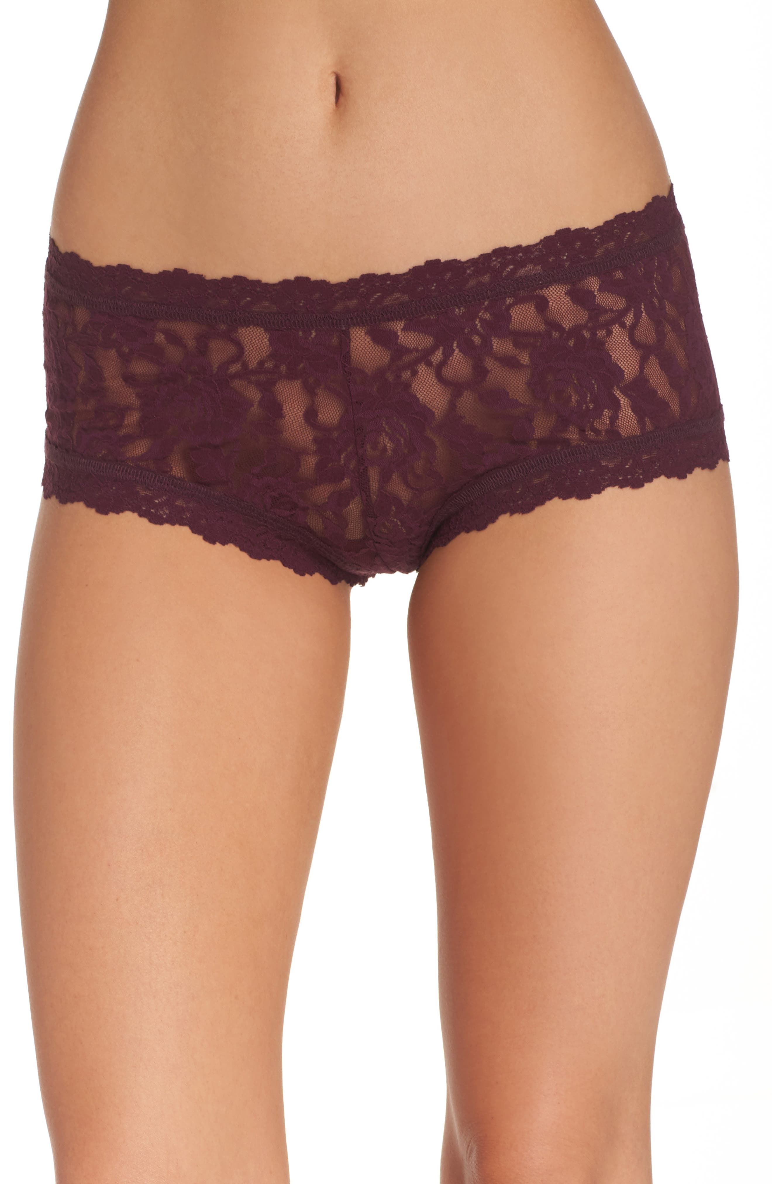 Alternate Image 1 Selected - Hanky Panky 'Signature Lace' Boyshorts