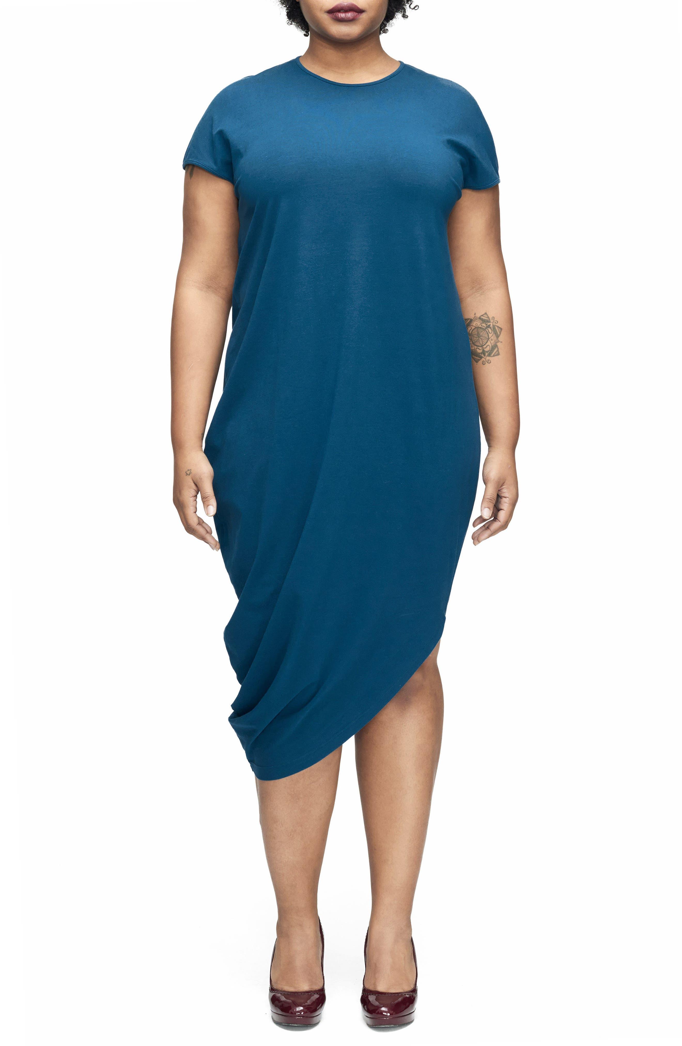 Geneva Dress,                         Main,                         color, Marine