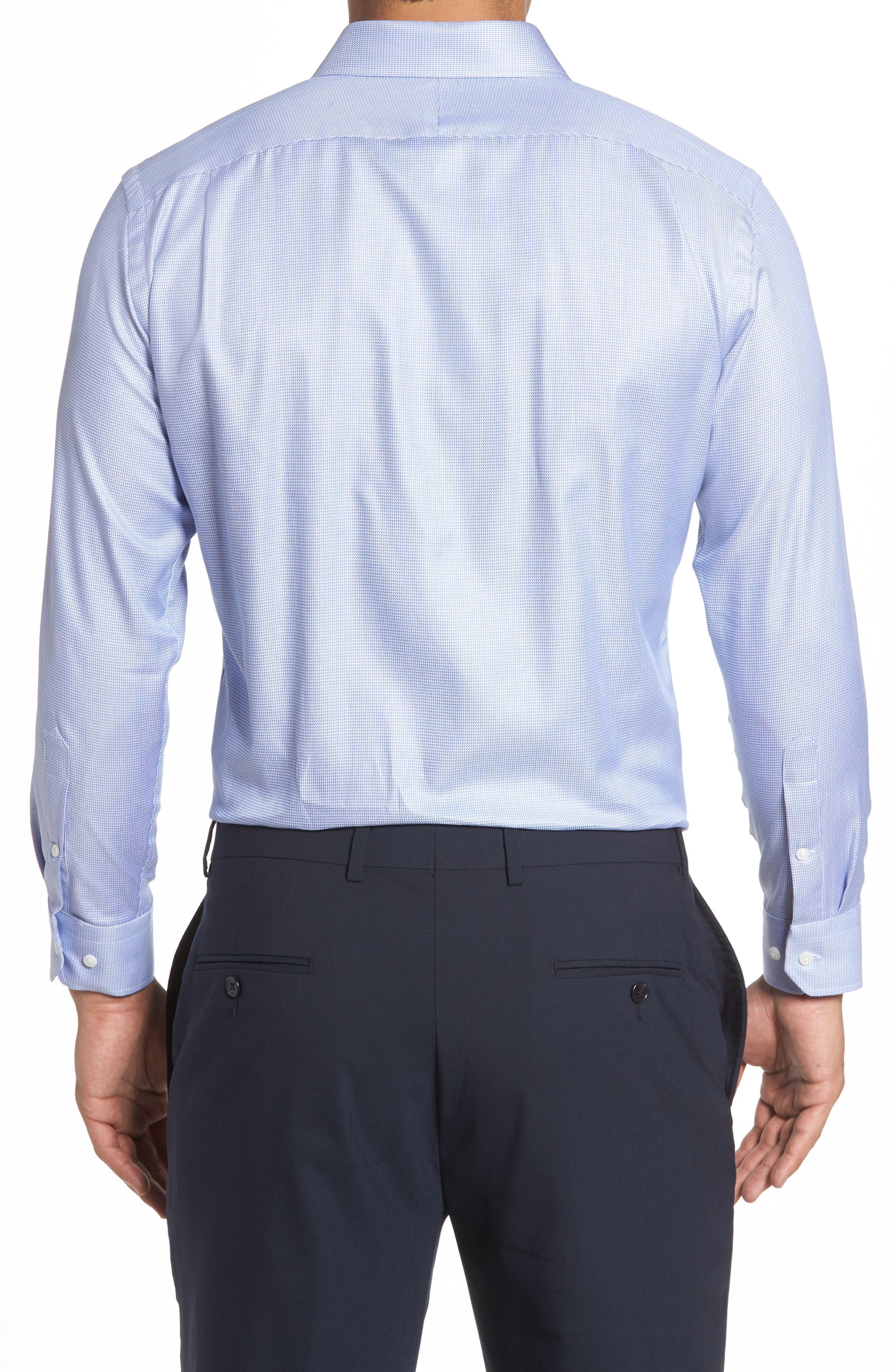 Alternate Image 3  - John W. Nordstrom® Trim Fit Solid Dress Shirt
