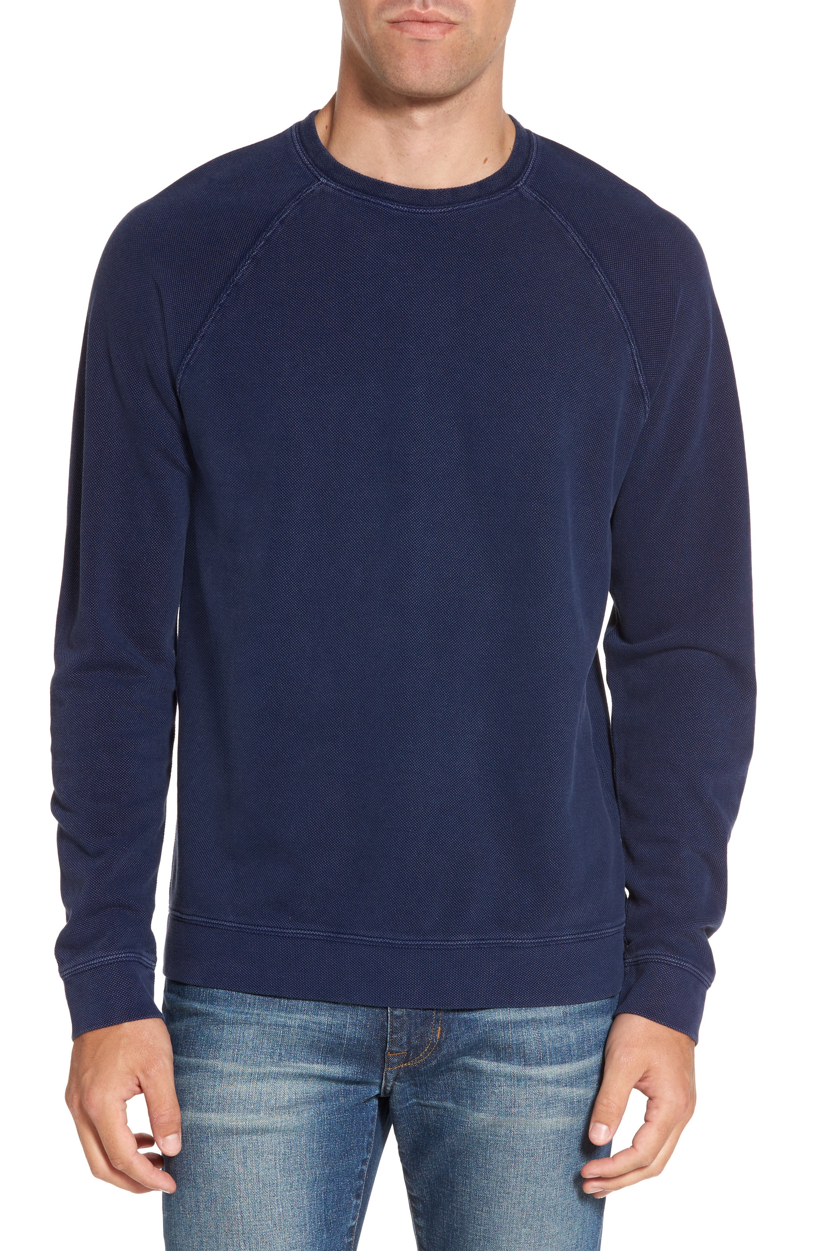 Nordstrom Men's Shop Piqué Sweatshirt