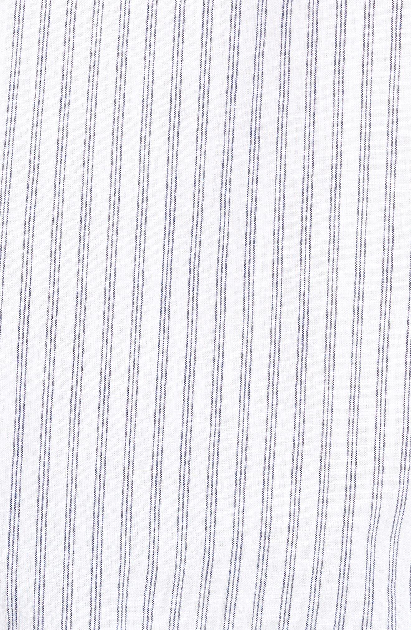 Alternate Image 5  - Nifty Genius Earnest Stripe Sport Shirt