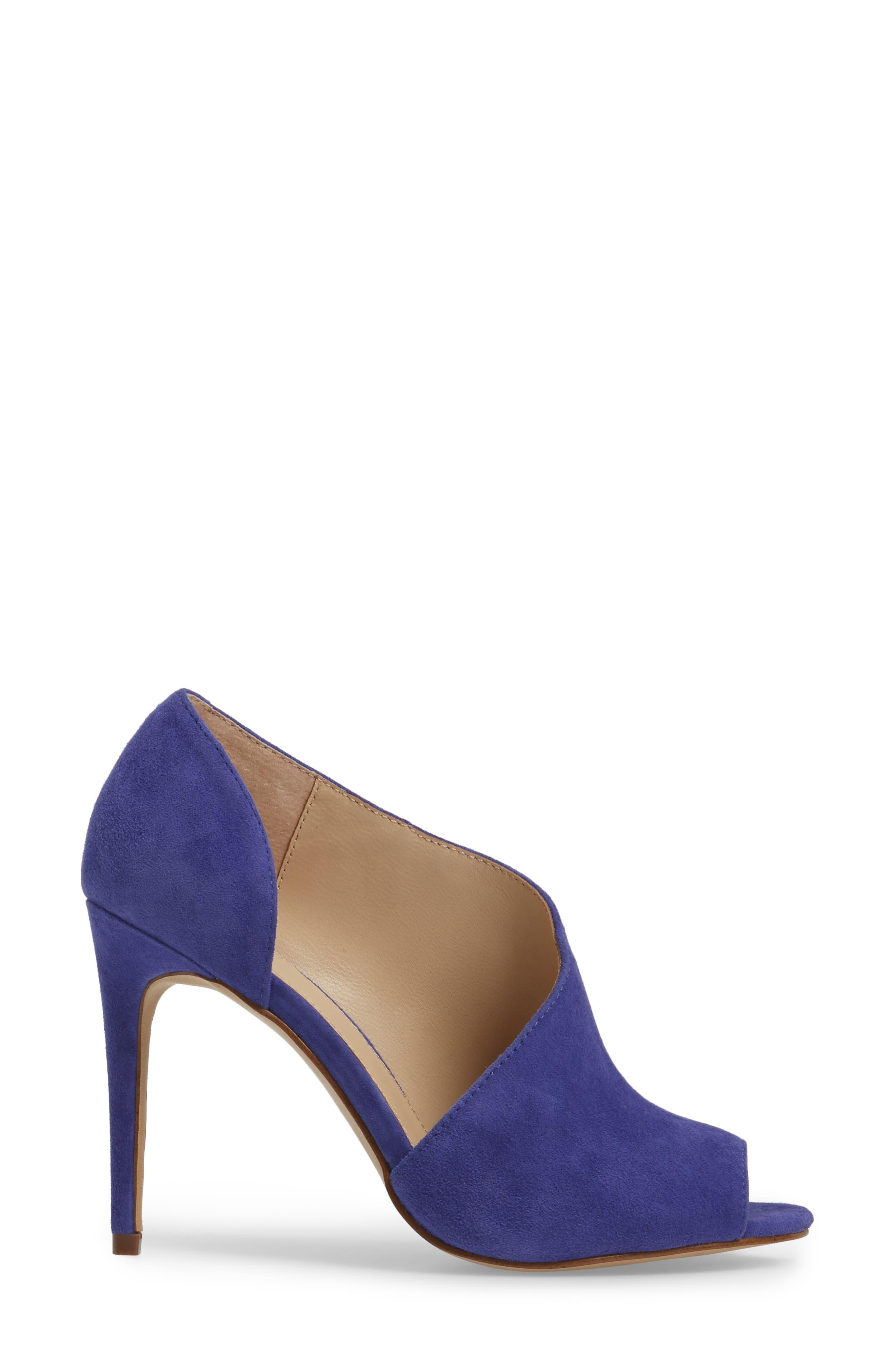 Adelia Asymmetrical Sandal,                             Alternate thumbnail 3, color,                             Blue