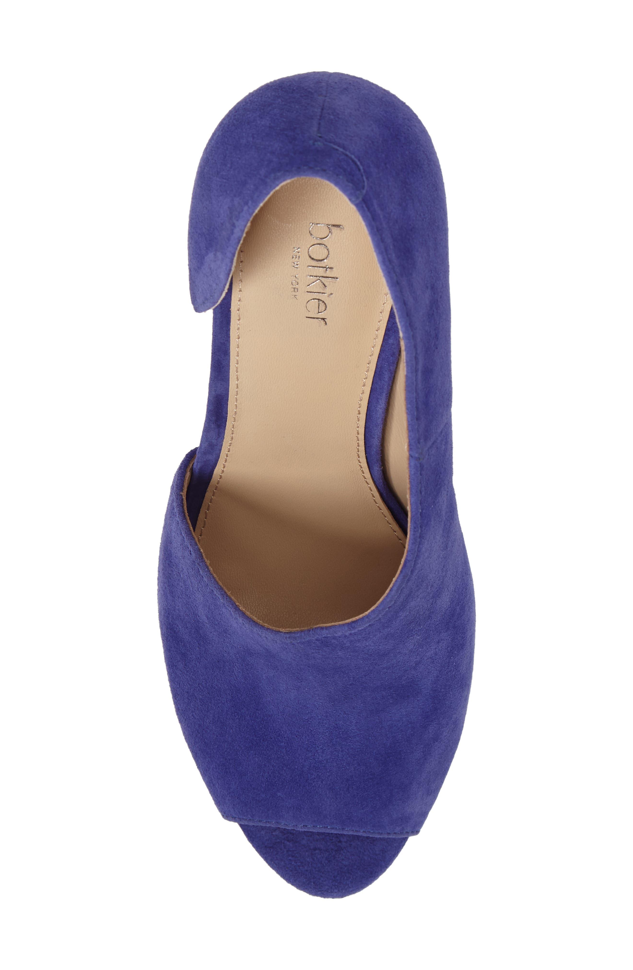 Adelia Asymmetrical Sandal,                             Alternate thumbnail 5, color,                             Blue