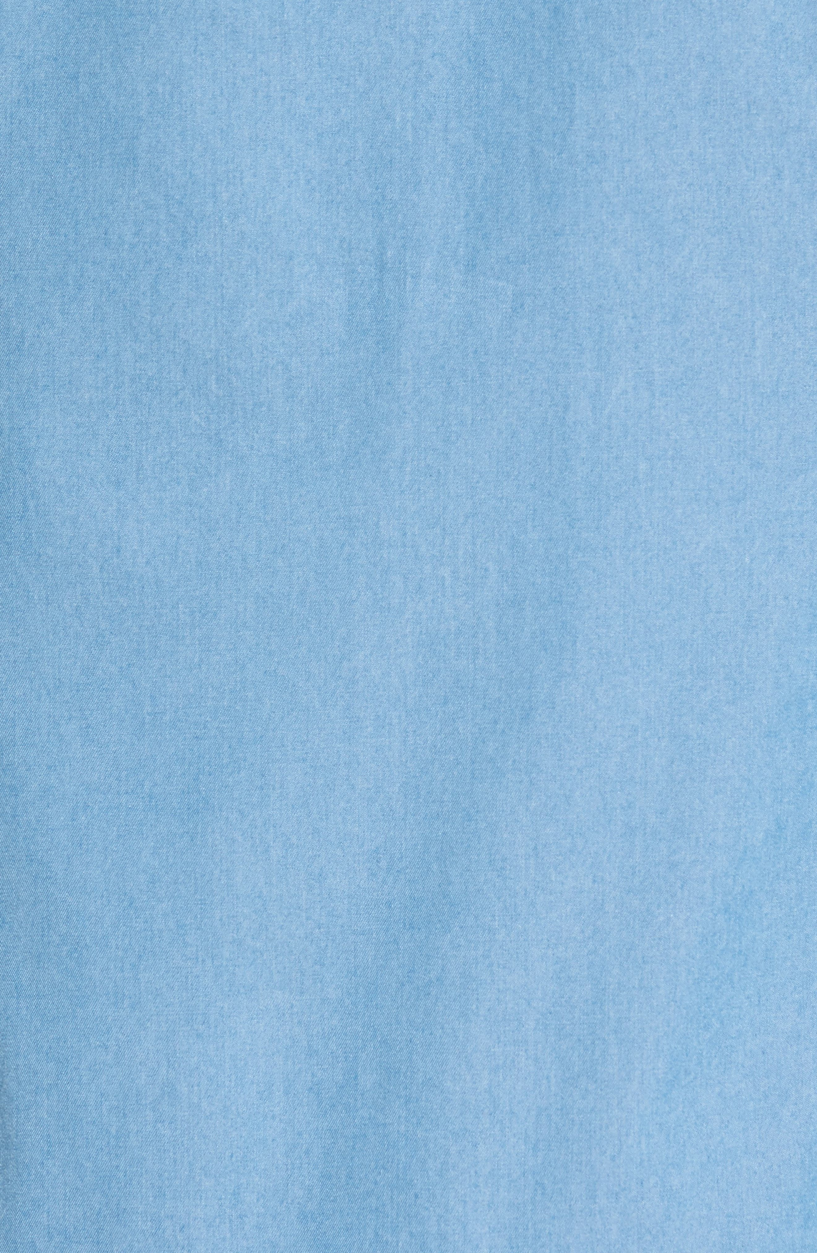 Denim Sport Shirt,                             Alternate thumbnail 5, color,                             Denim