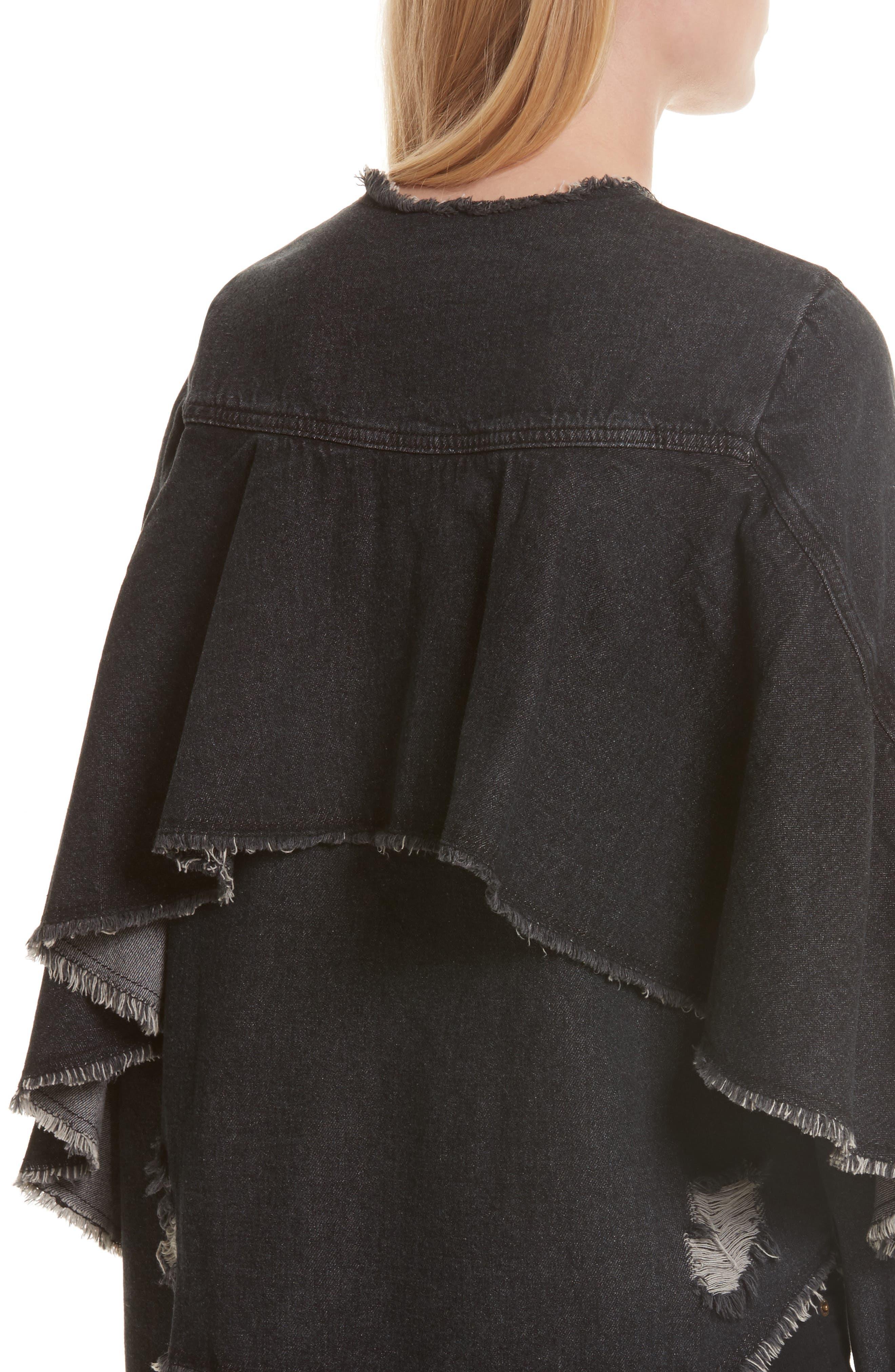 Alternate Image 4  - Robert Rodriguez Denim Ruffle Shirt