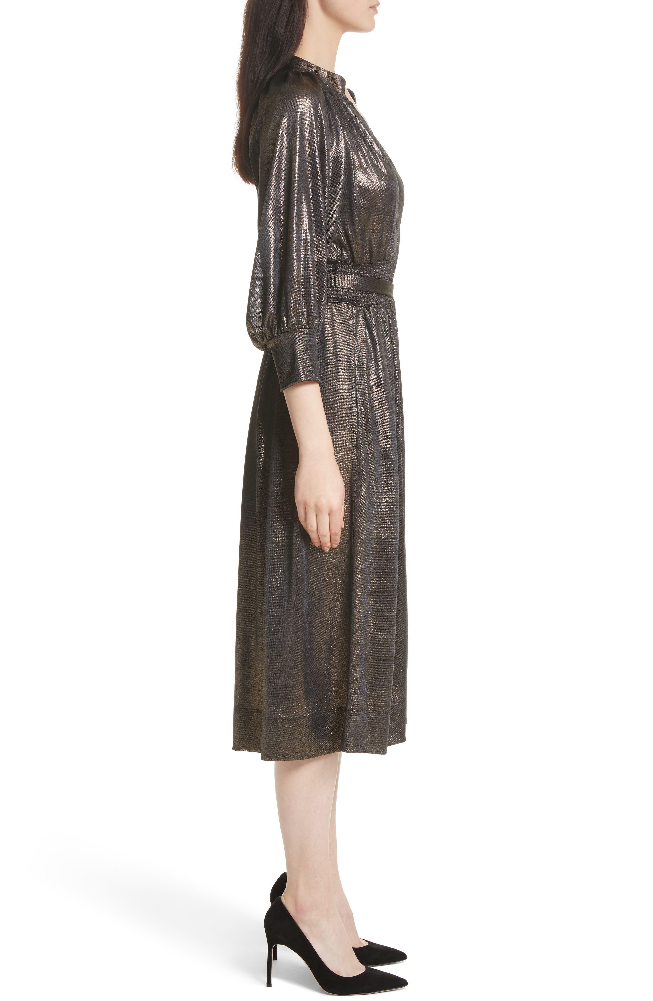 Alternate Image 3  - Tracy Reese Peasant Midi Dress
