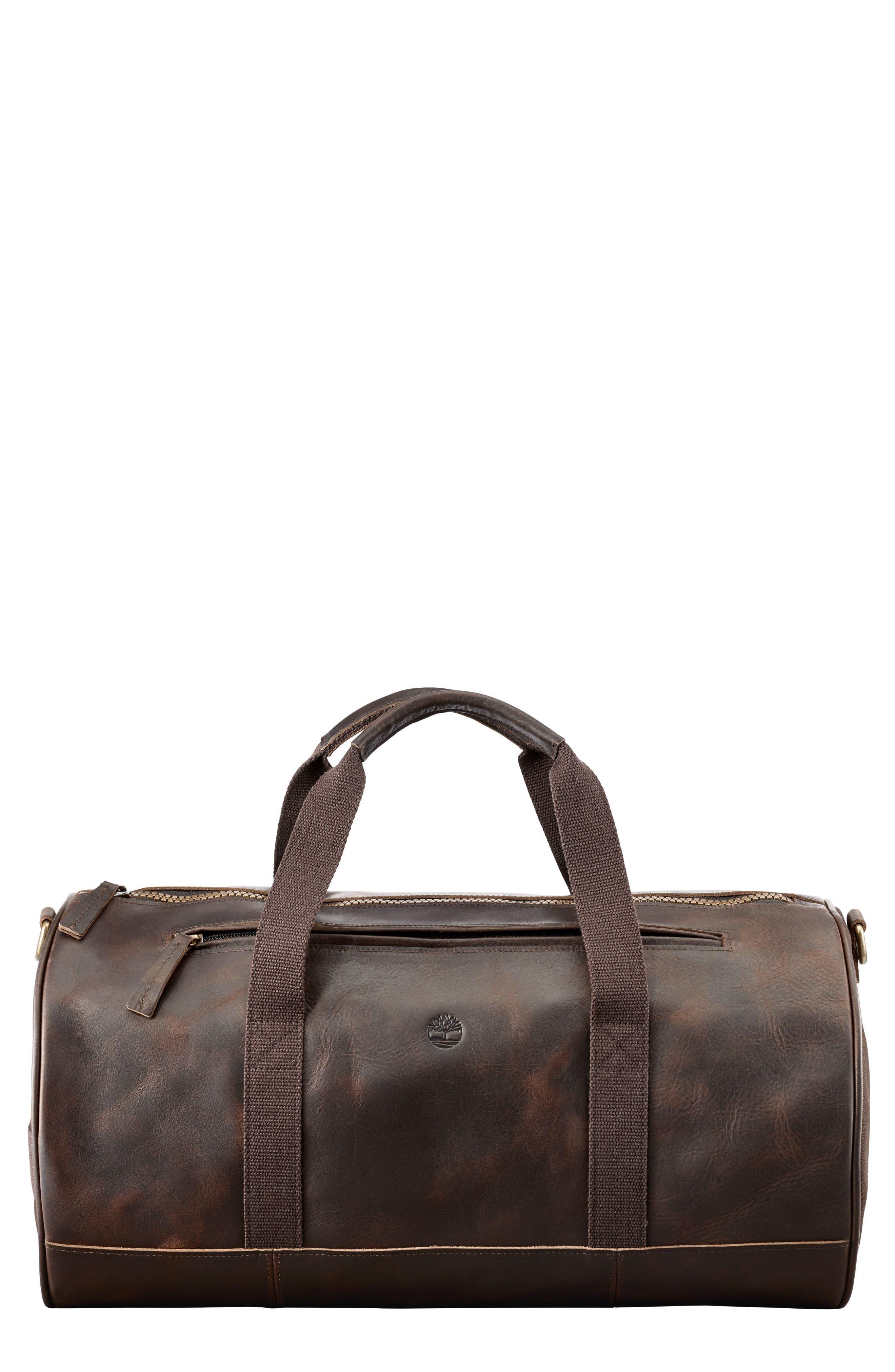 Alternate Image 1 Selected - Timberland Tuckerman Leather Duffel