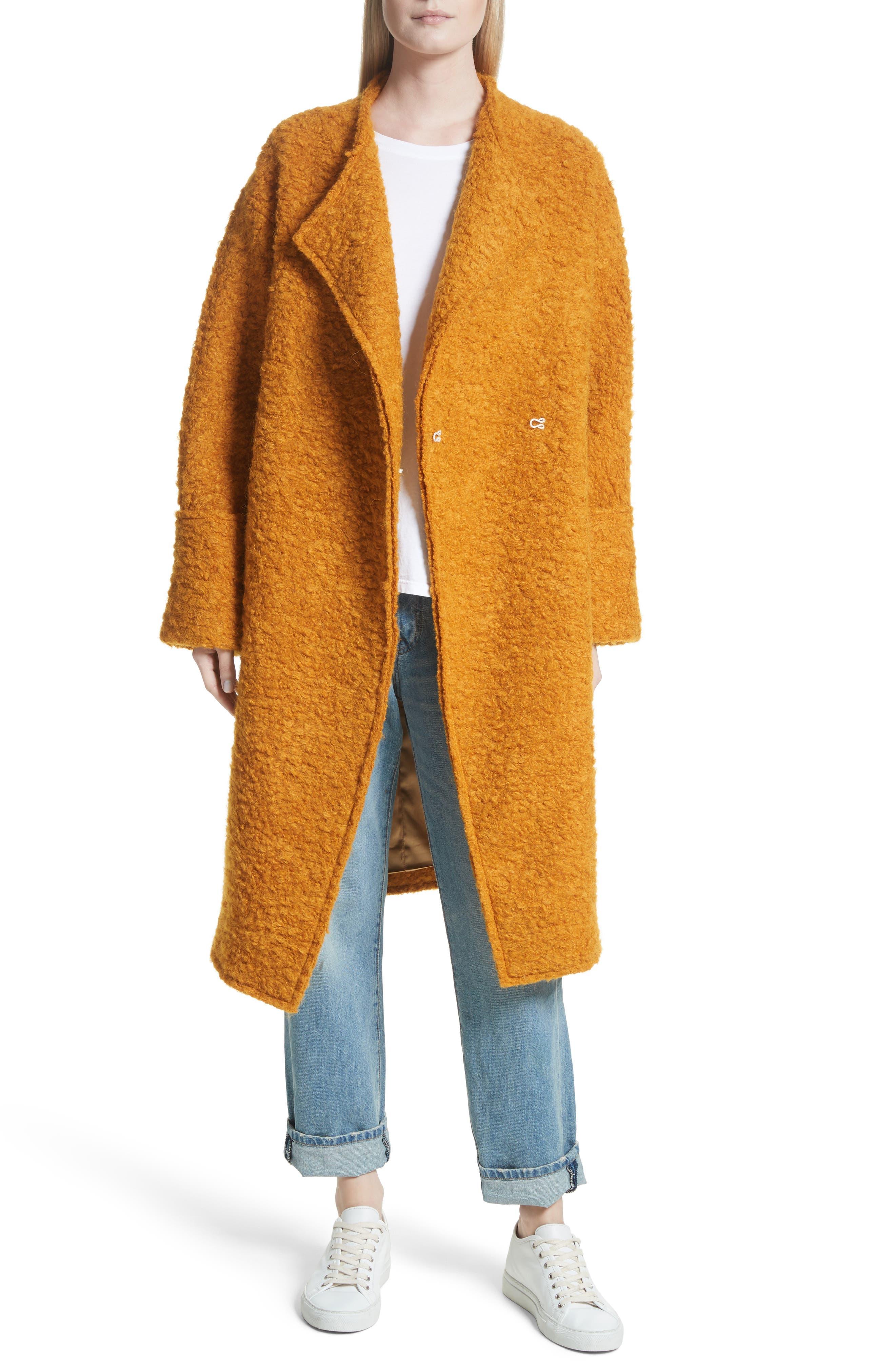 Elizabeth and James Paloma Wool, Mohair & Alpaca Blend Coat