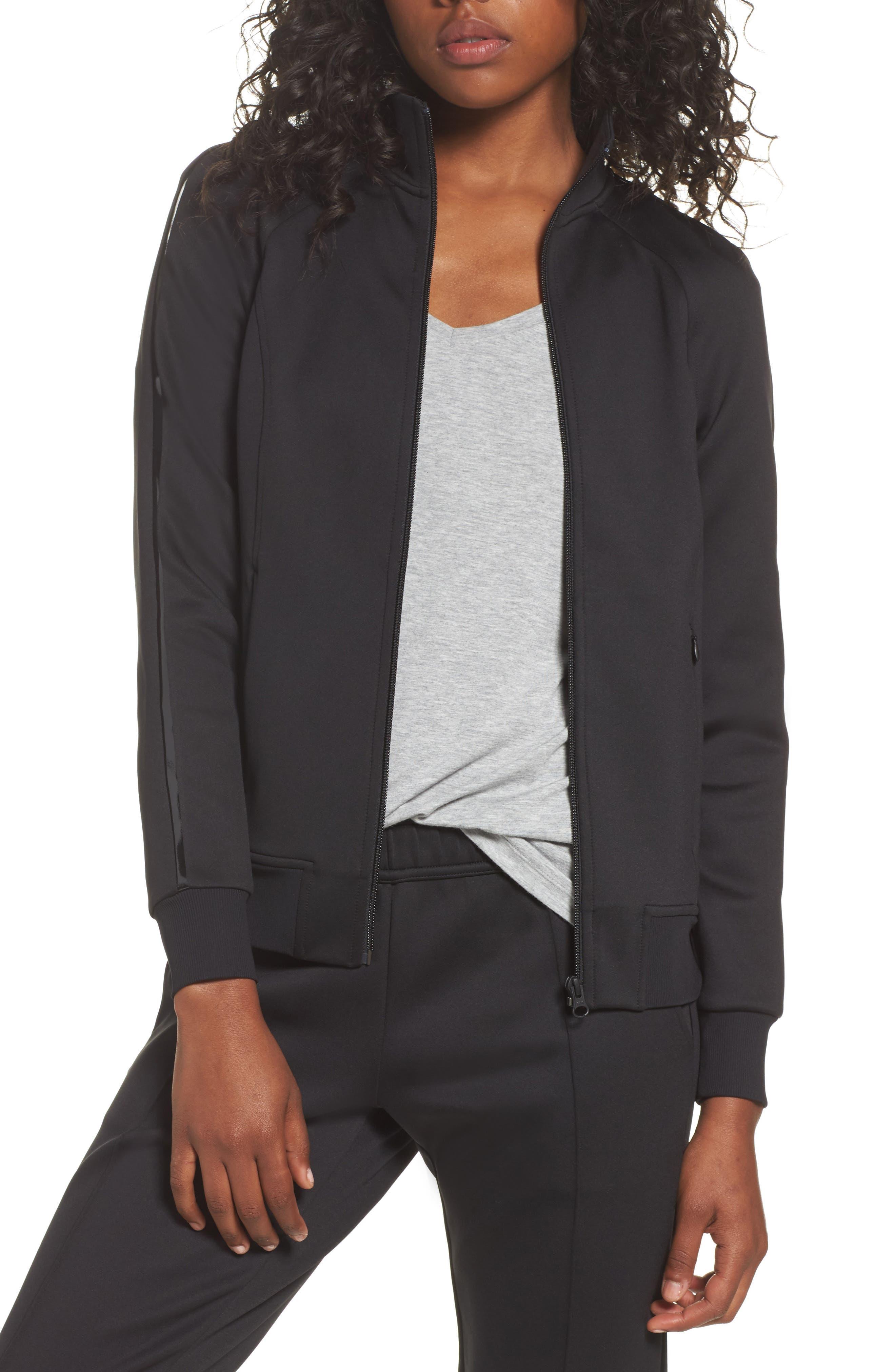 Street Chic Jacket,                         Main,                         color, Black