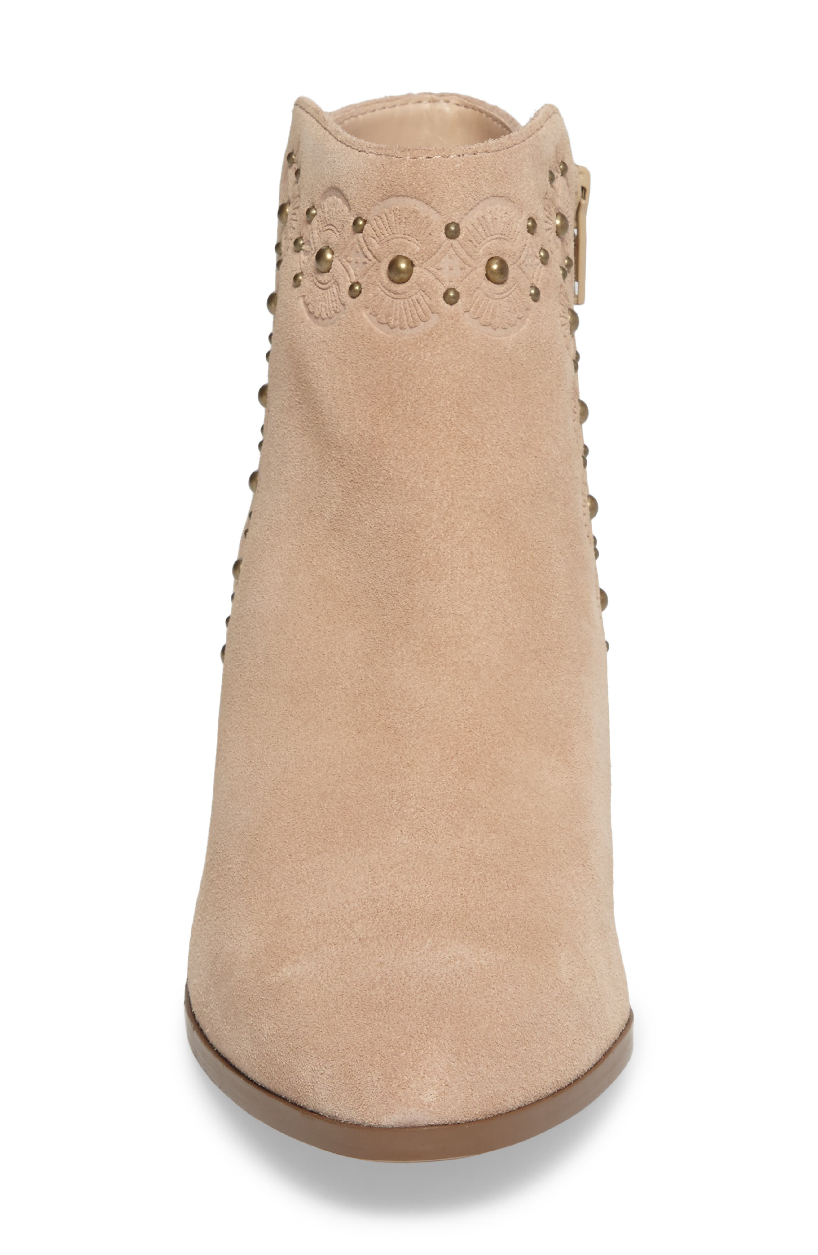 Alternate Image 4  - Sole Society Gala Studded Embossed Bootie (Women)