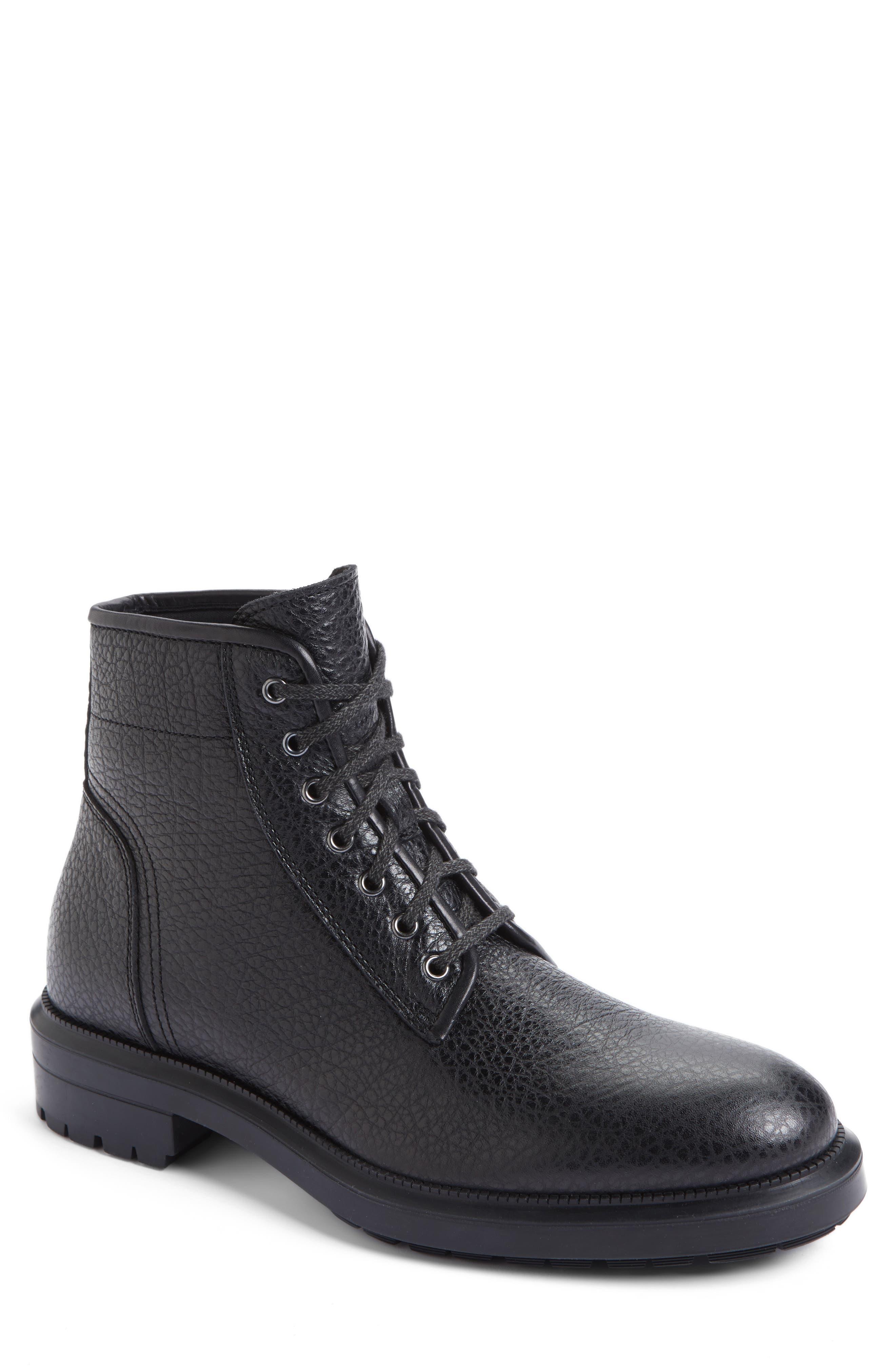 Aquatalia Tyson Plain Toe Boot (Men)