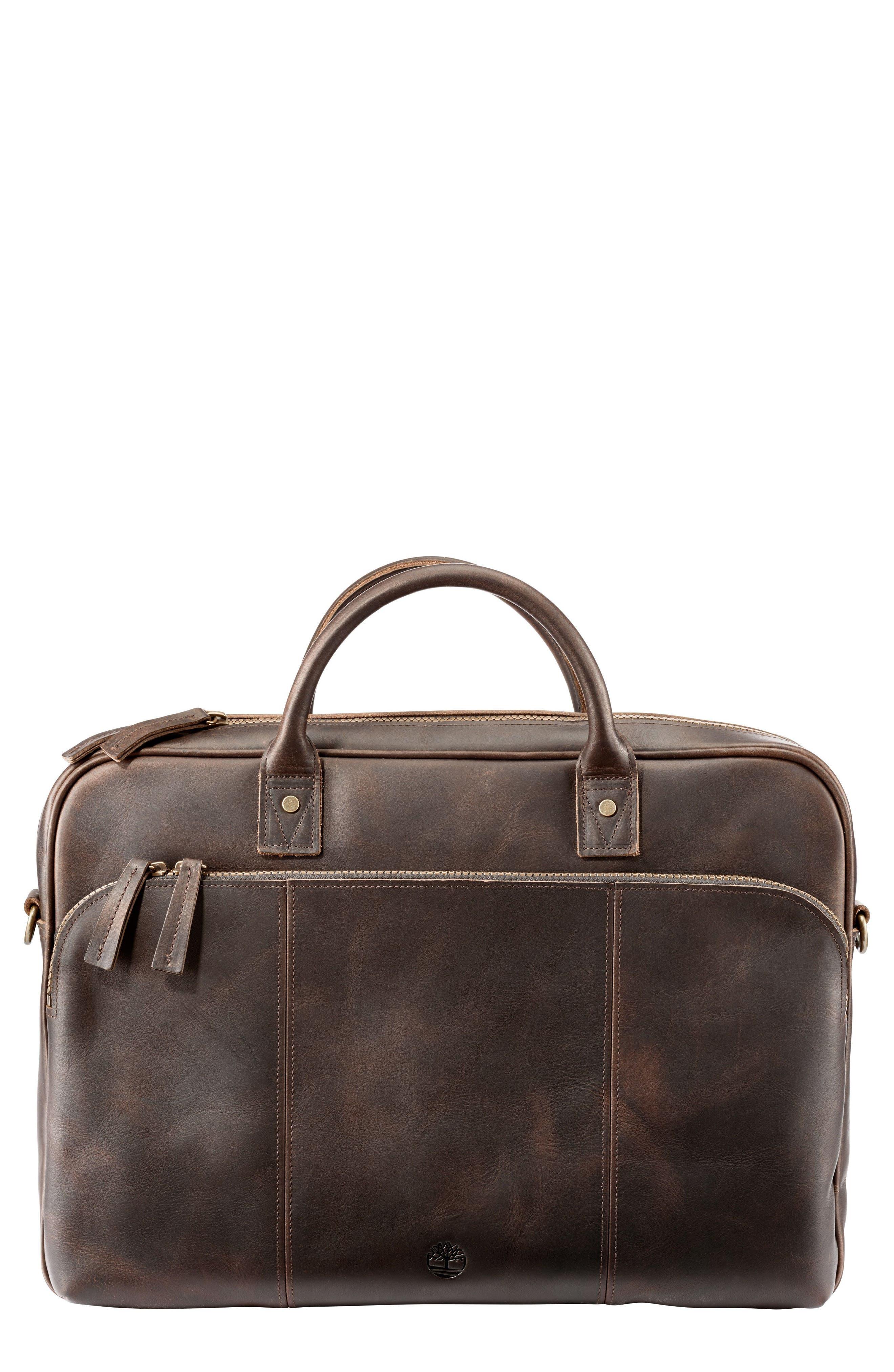 Timberland Tuckerman Leather Briefcase