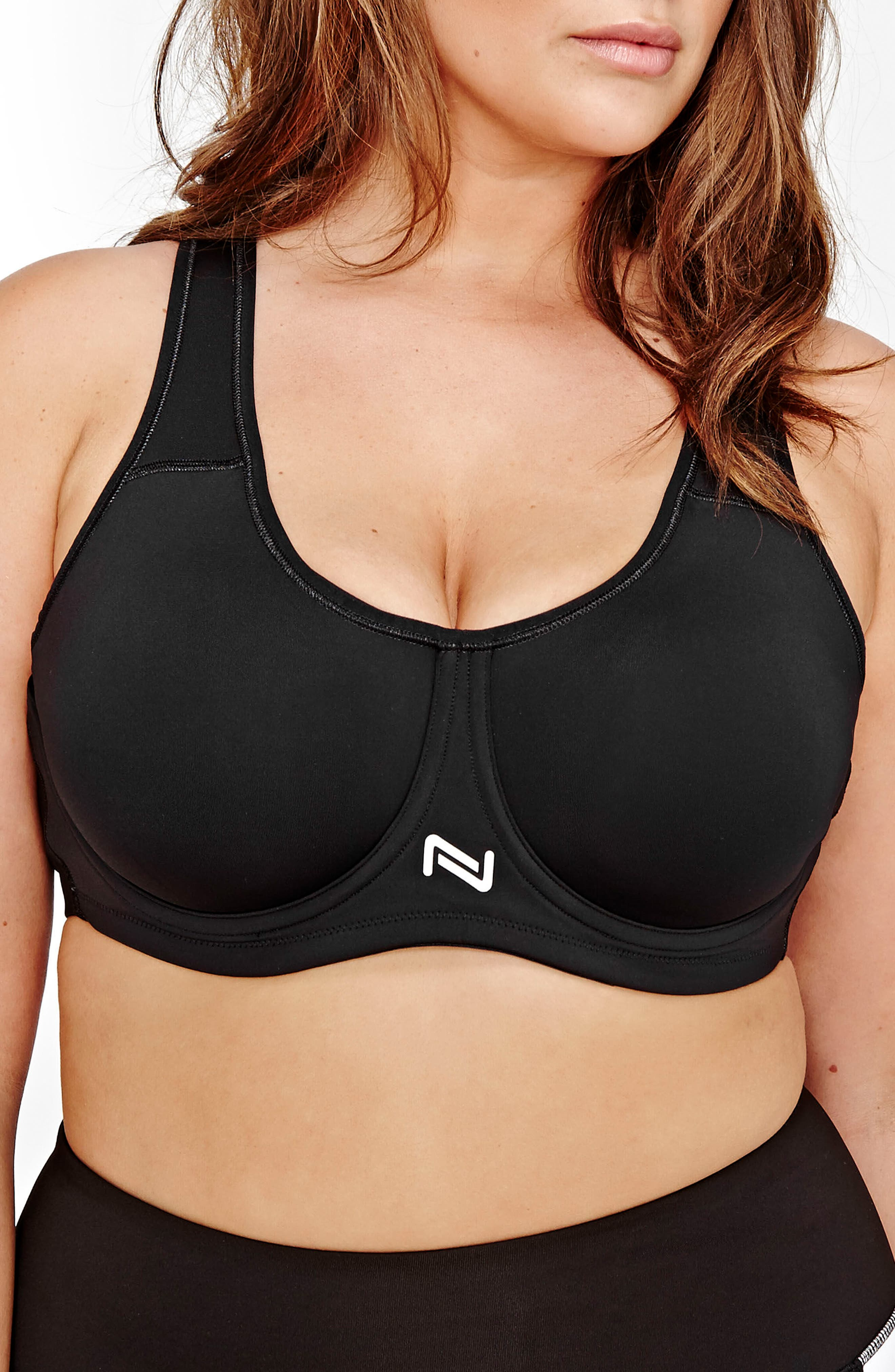 Main Image - Nola Underwire Sports Bra (Plus Size)