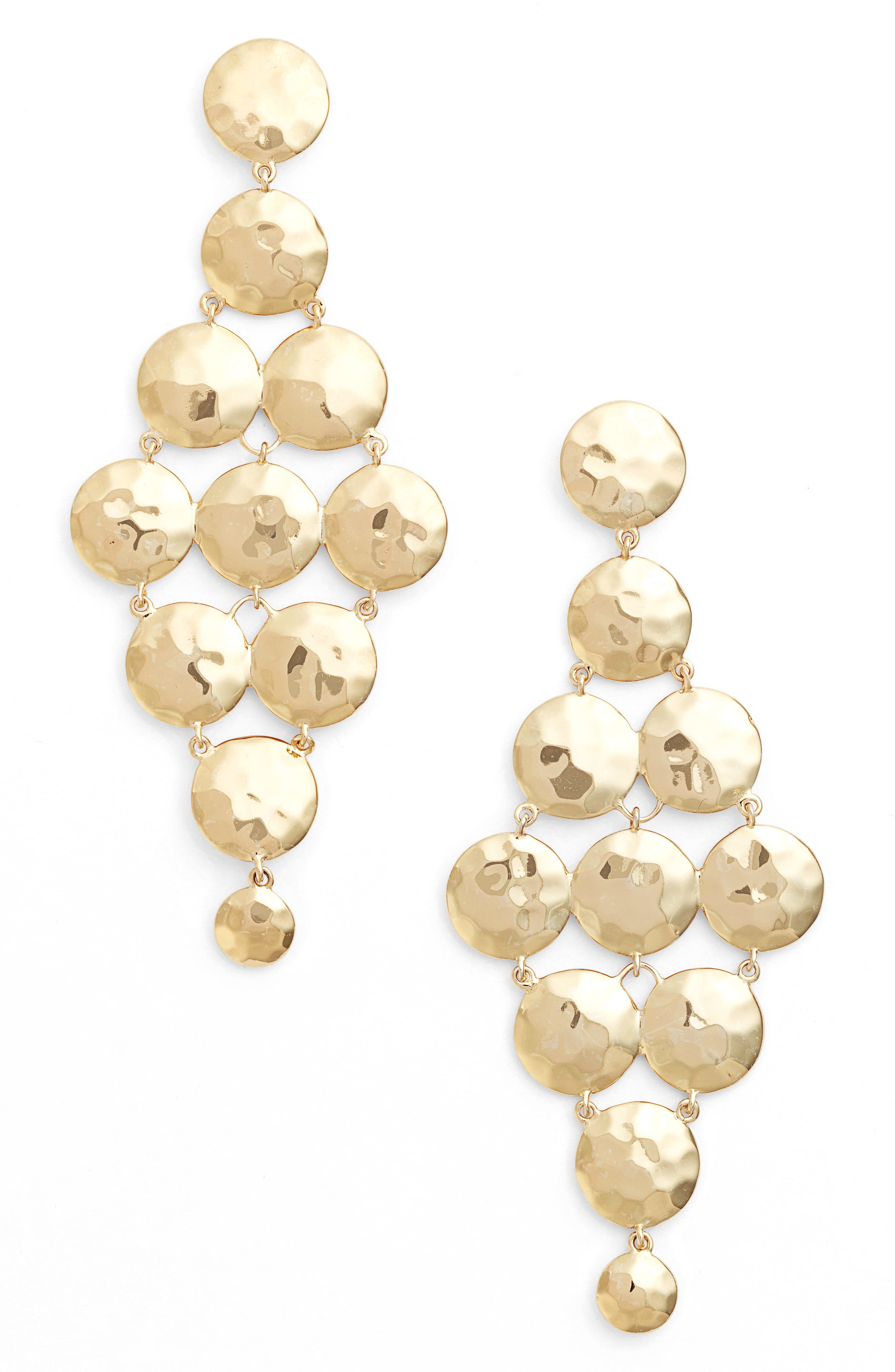 gorjana Gypset Tiered Drop Earrings