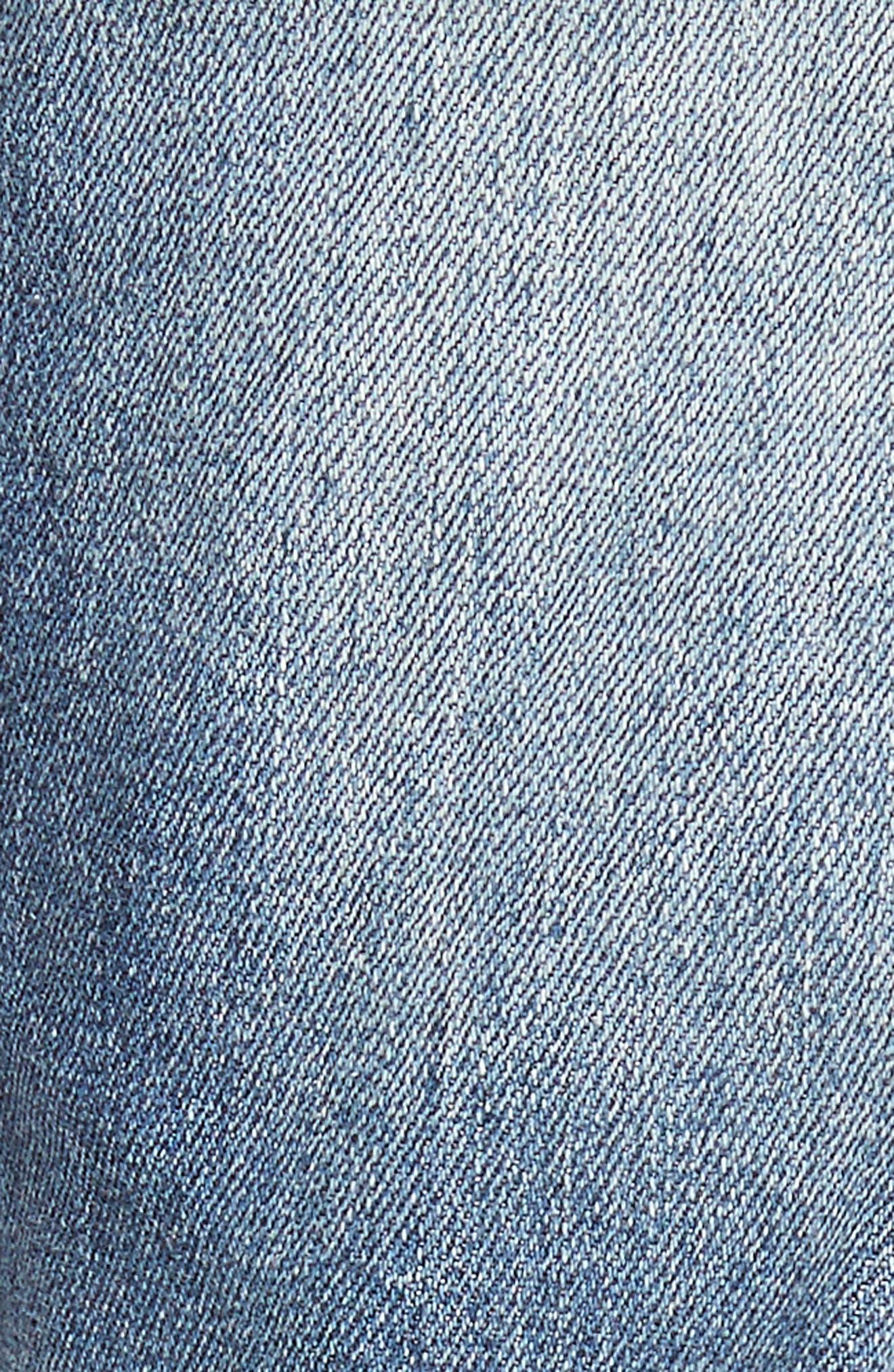 B.Line Slim Fit Jeans,                             Alternate thumbnail 5, color,                             Blow Out Stonewash