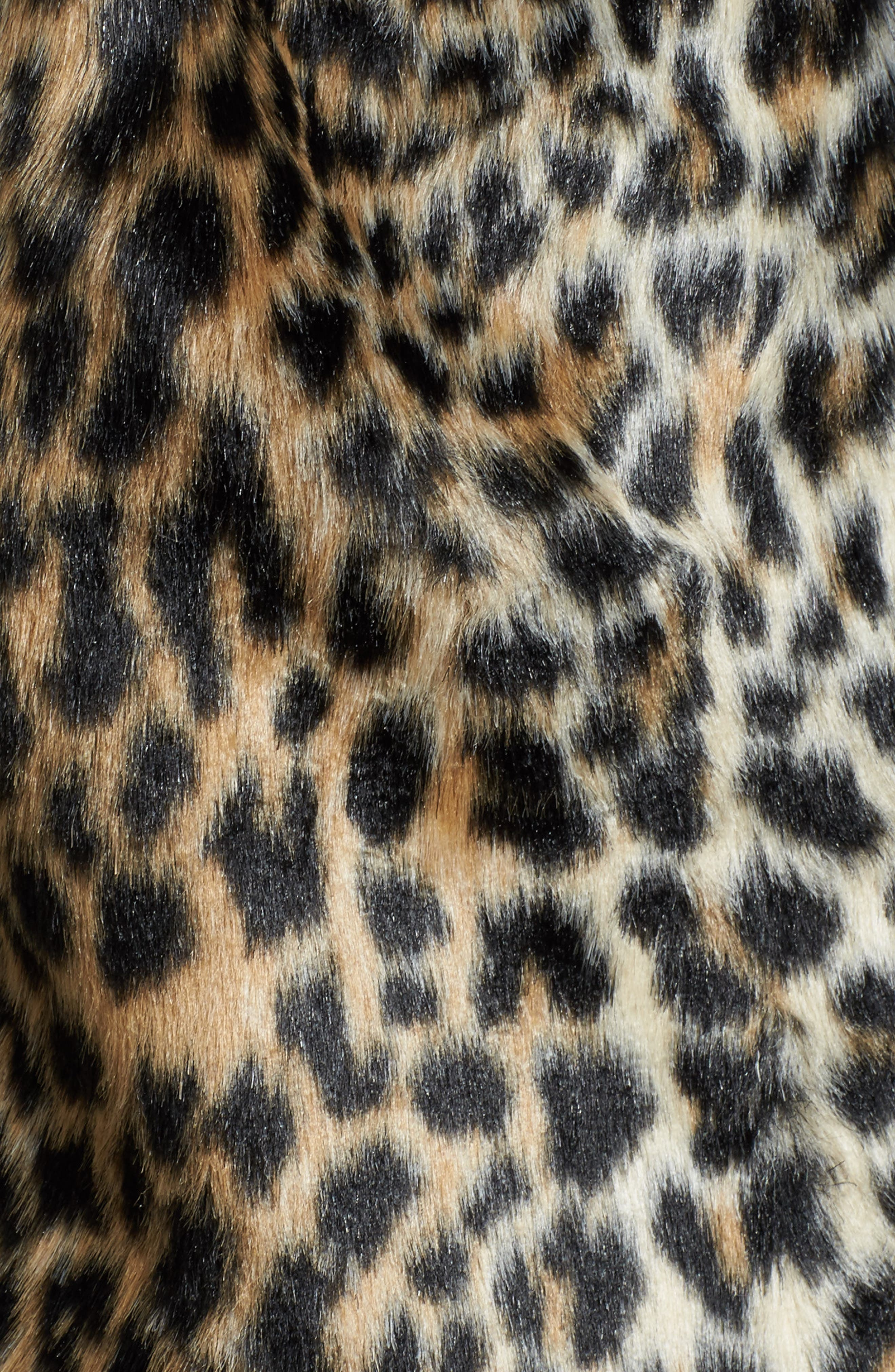 Alternate Image 5  - KUT from the Kloth Courtney Faux Leopard Fur Jacket