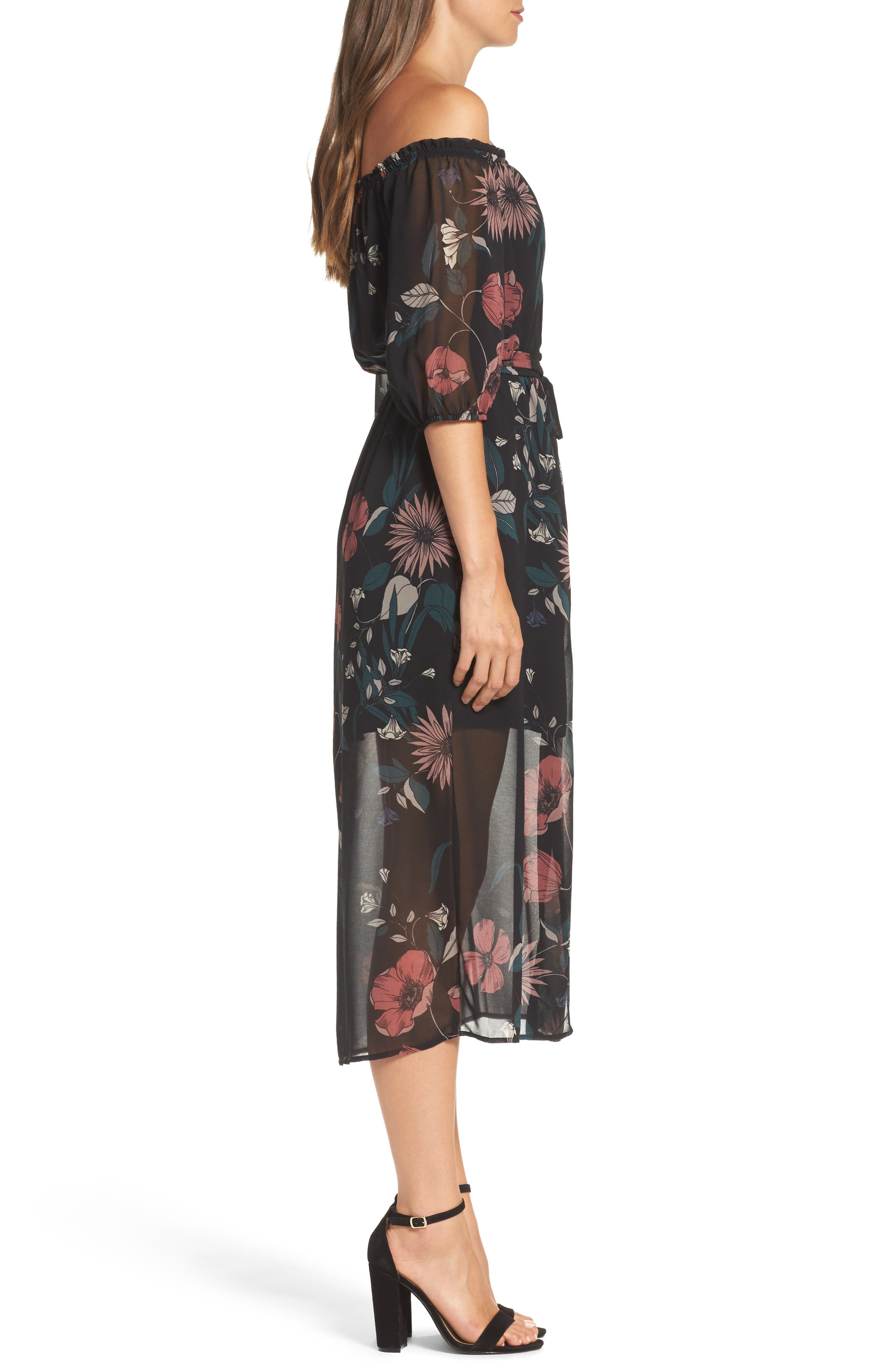 Alternate Image 3  - Bardot Camilla Midi Dress