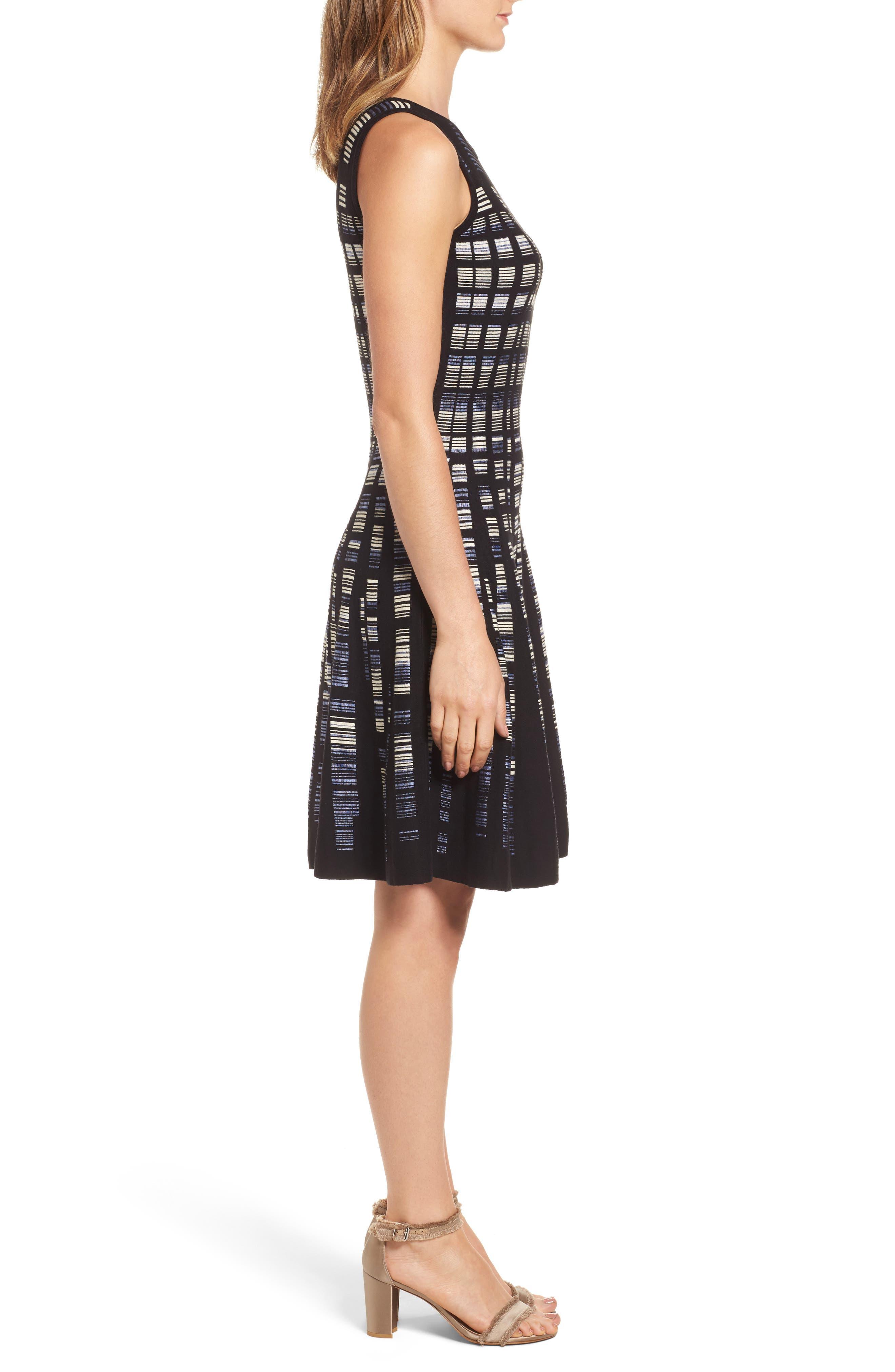 Alternate Image 3  - NIC+ZOE Crystal Cove Twirl Fit & Flare Dress