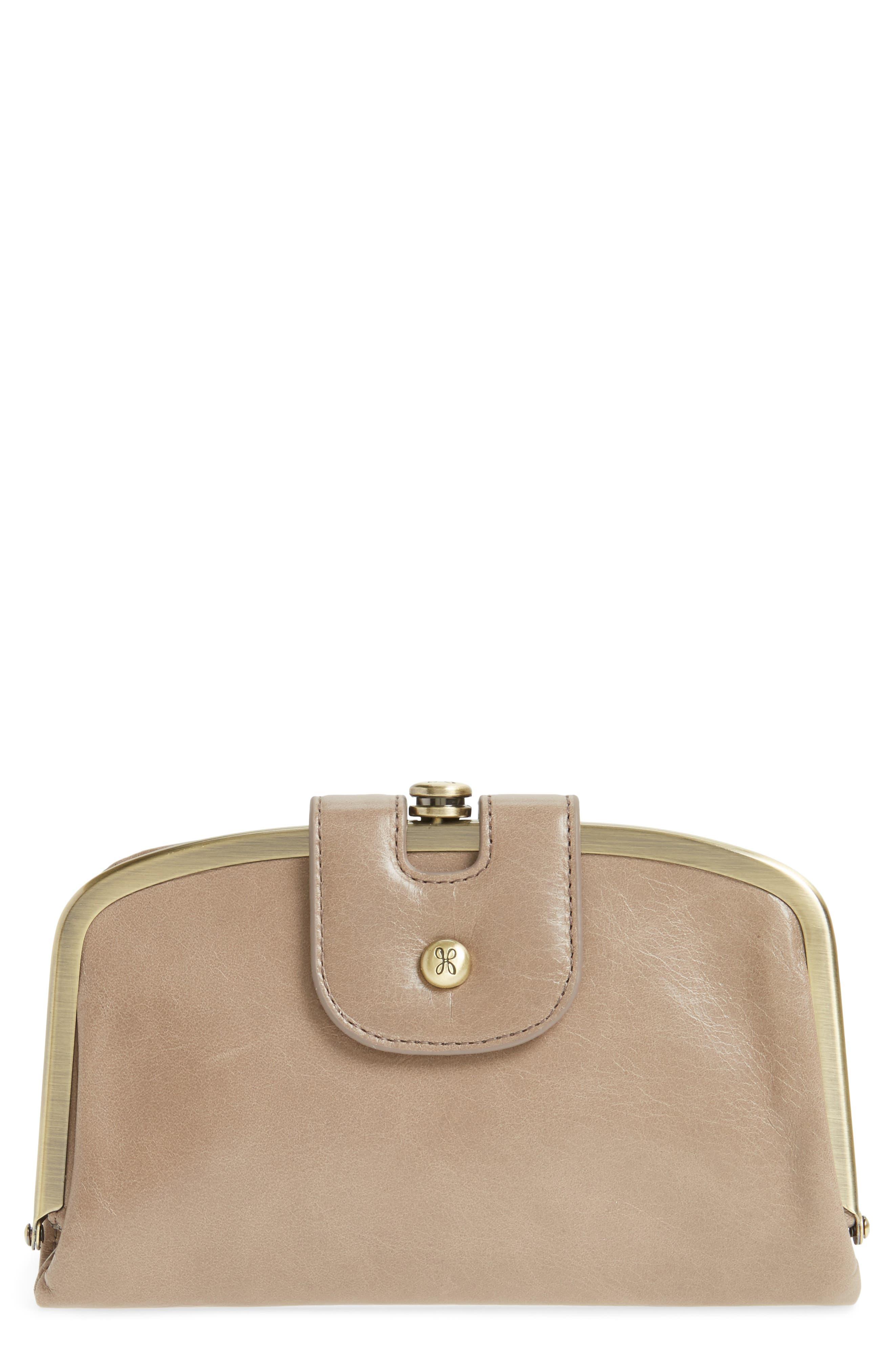 HOBO Halo Calfskin Leather Wallet