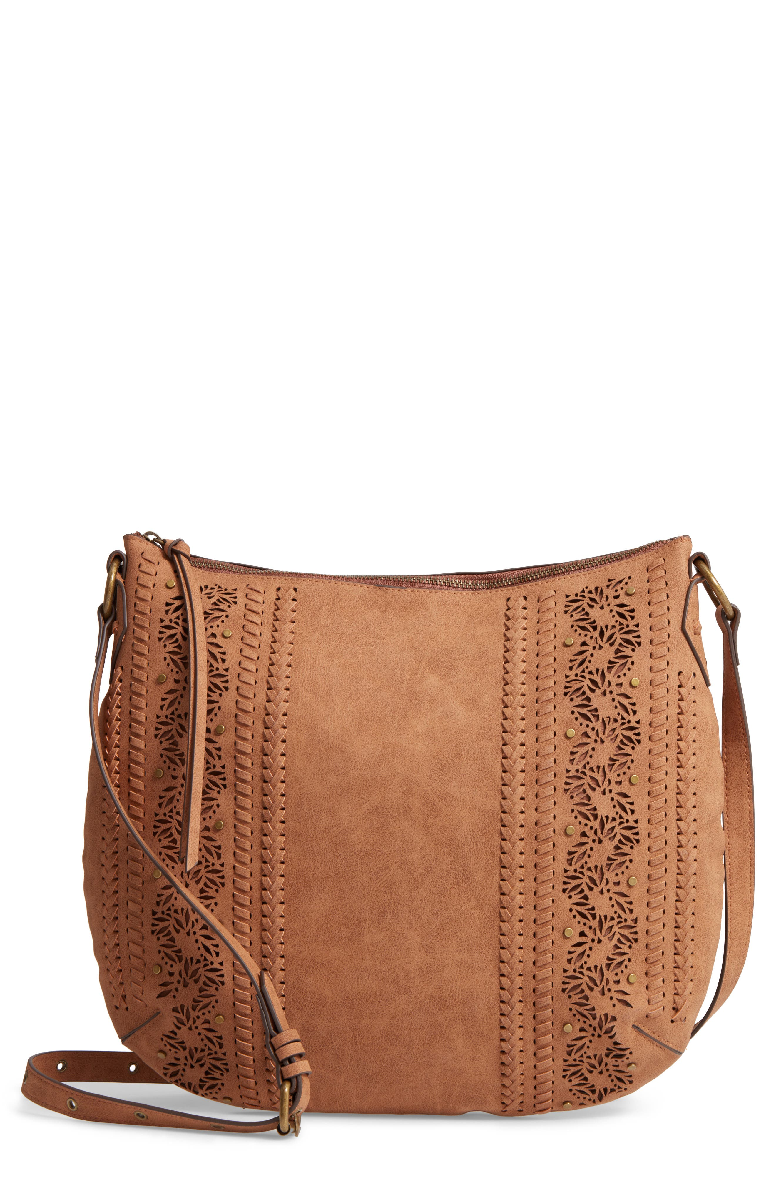 Elle & Jae Gypset Palomina Faux Leather Crossbody Hobo