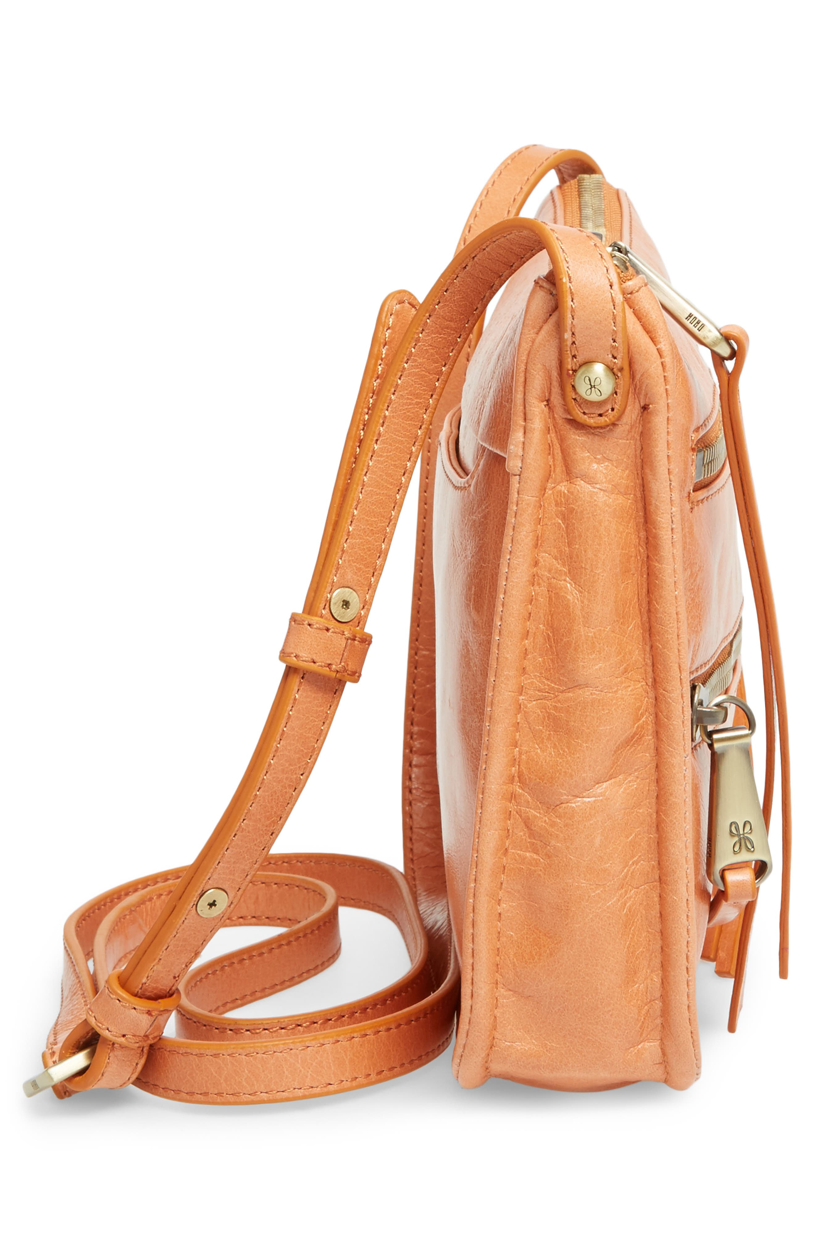 Alternate Image 4  - Hobo Mission Leather Crossbody Bag