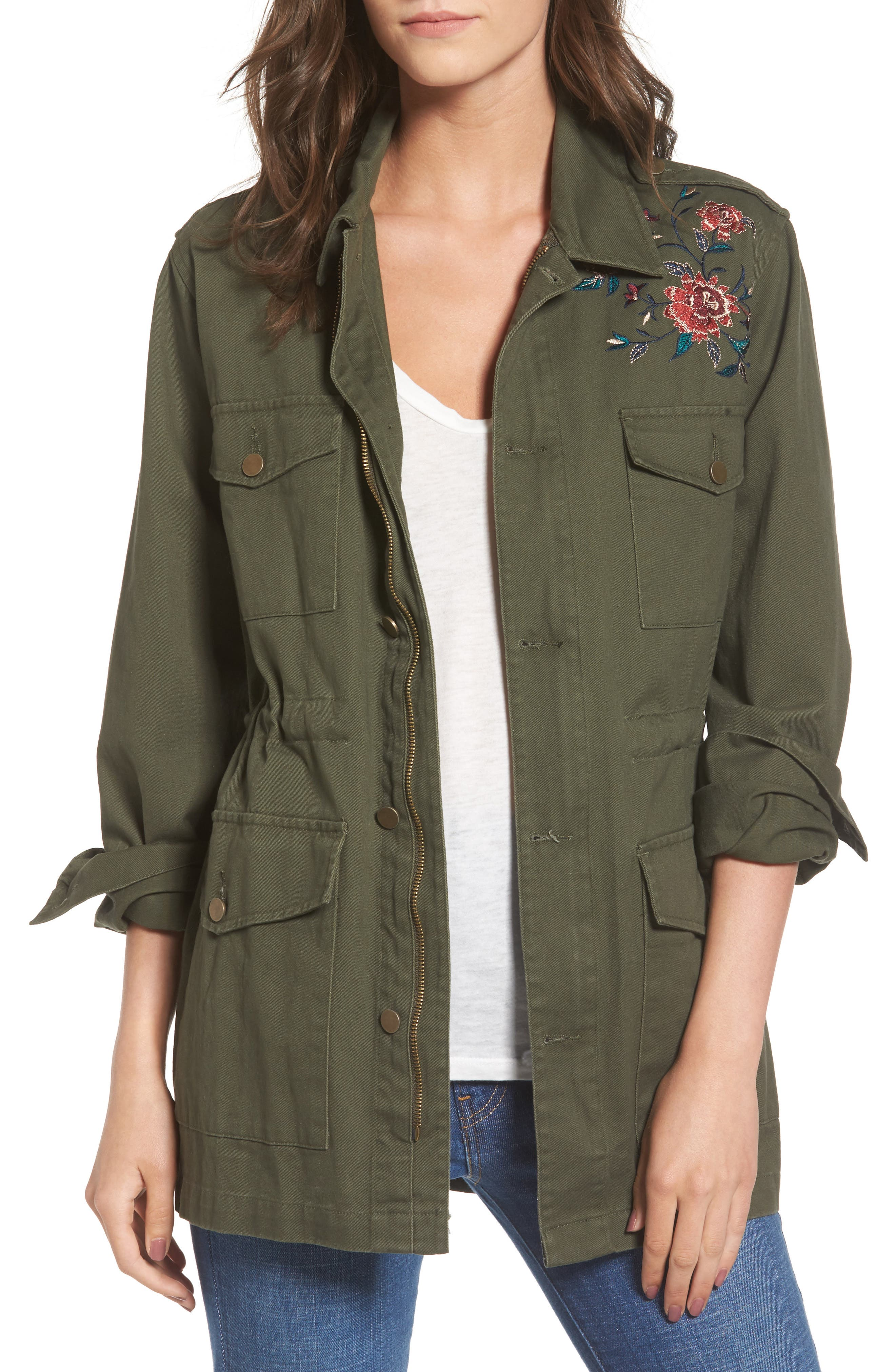 ASTR the Label Jessie Embroidered Jacket
