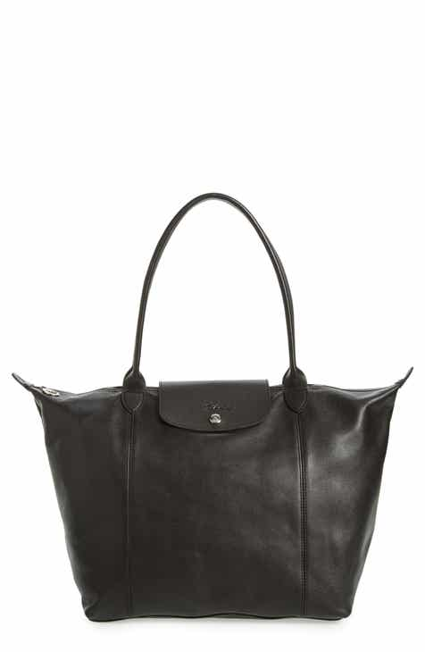 0f182cf4890b Longchamp Le Pliage Cuir Leather Tote (Nordstrom Exclusive)