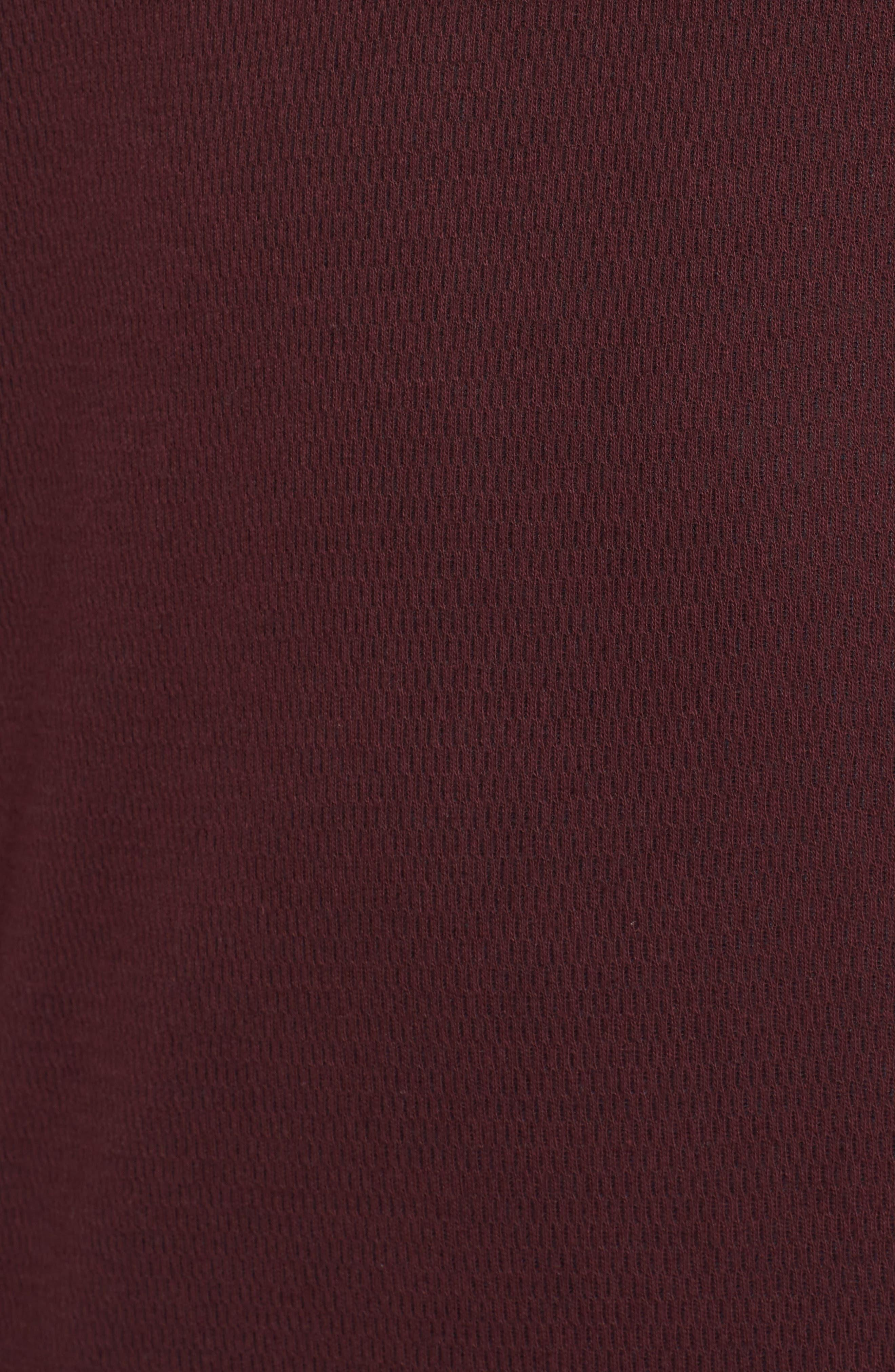 Alternate Image 5  - The Rail Thermal Knit Raglan Hoodie
