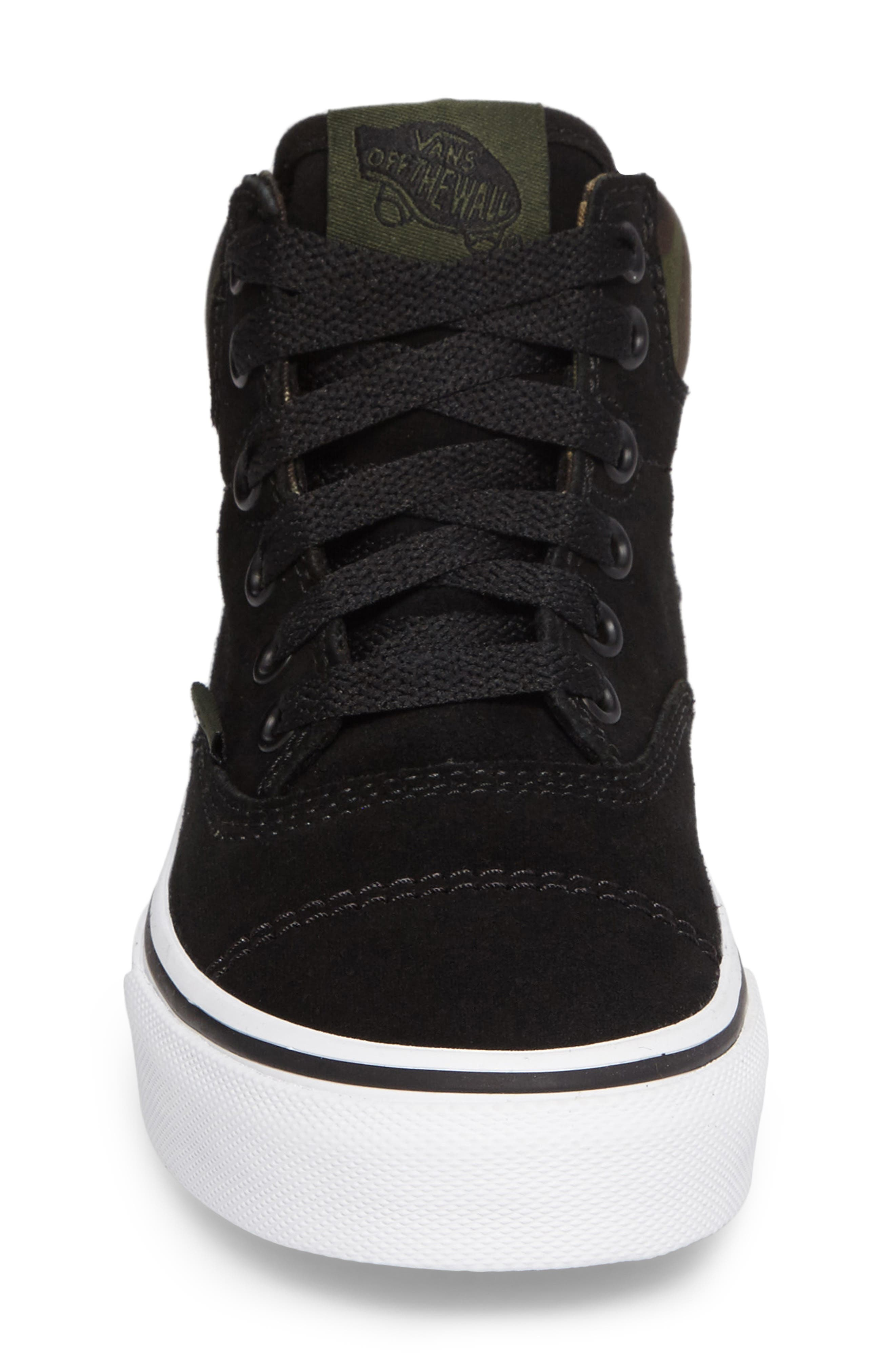 Era - Hi Sneaker,                             Alternate thumbnail 4, color,                             Classic Camo/ Black Suede