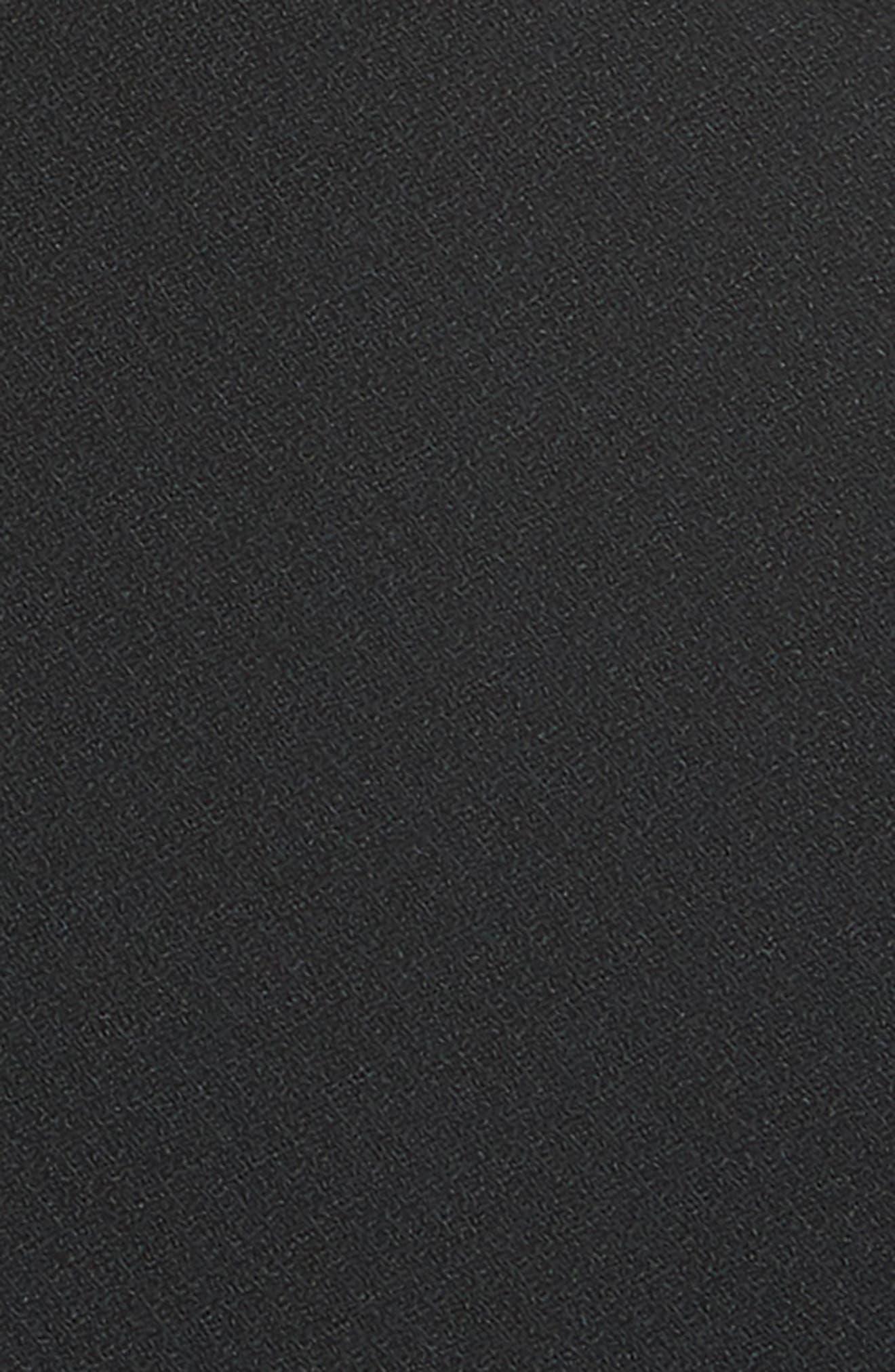 Arcadia High Waist Pants,                             Alternate thumbnail 6, color,                             Black
