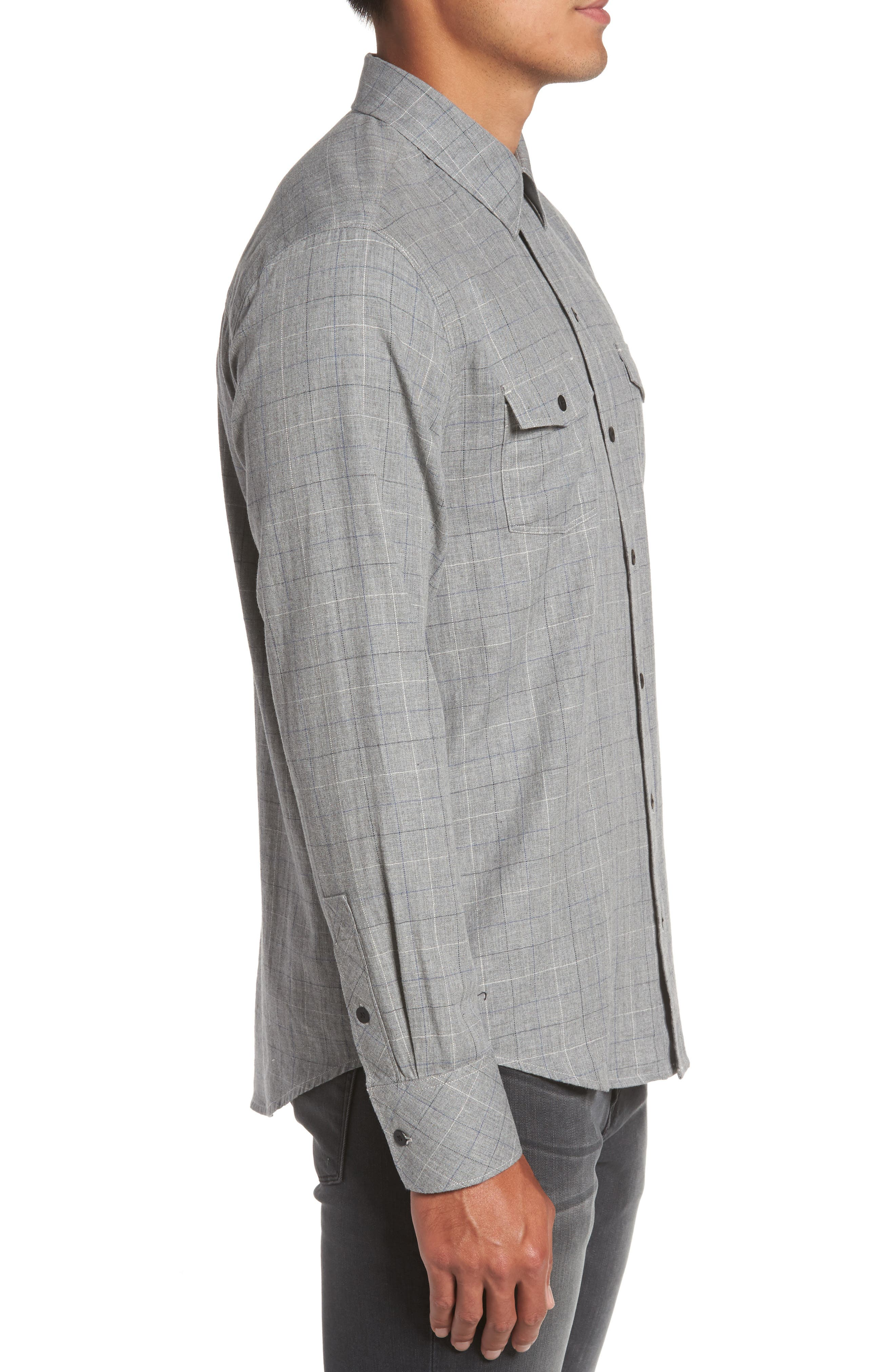 Alternate Image 3  - PAIGE Everett Tattersall Sport Shirt