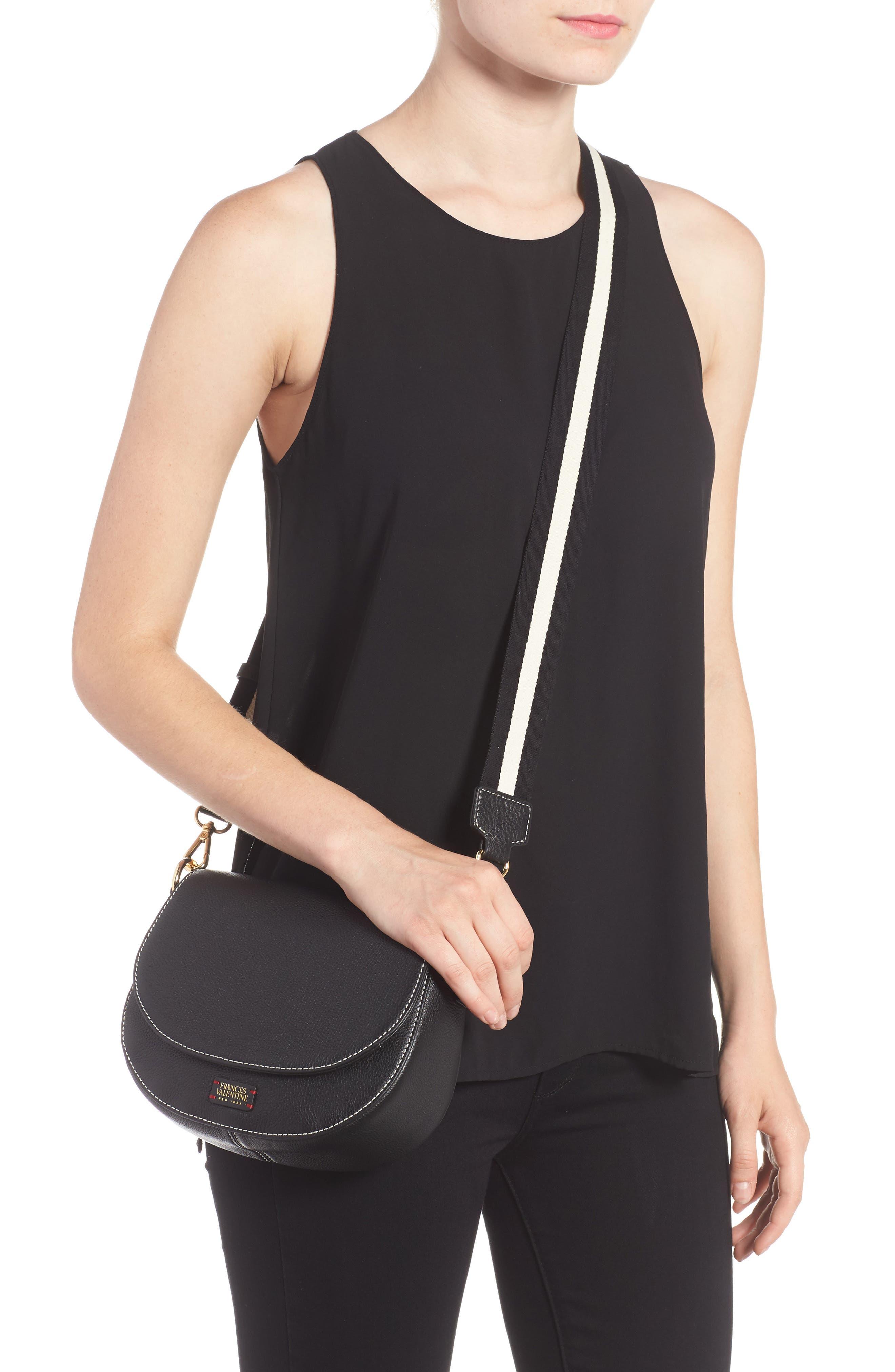 Alternate Image 2  - Frances Valentine Mini Ellen Leather Crossbody Bag